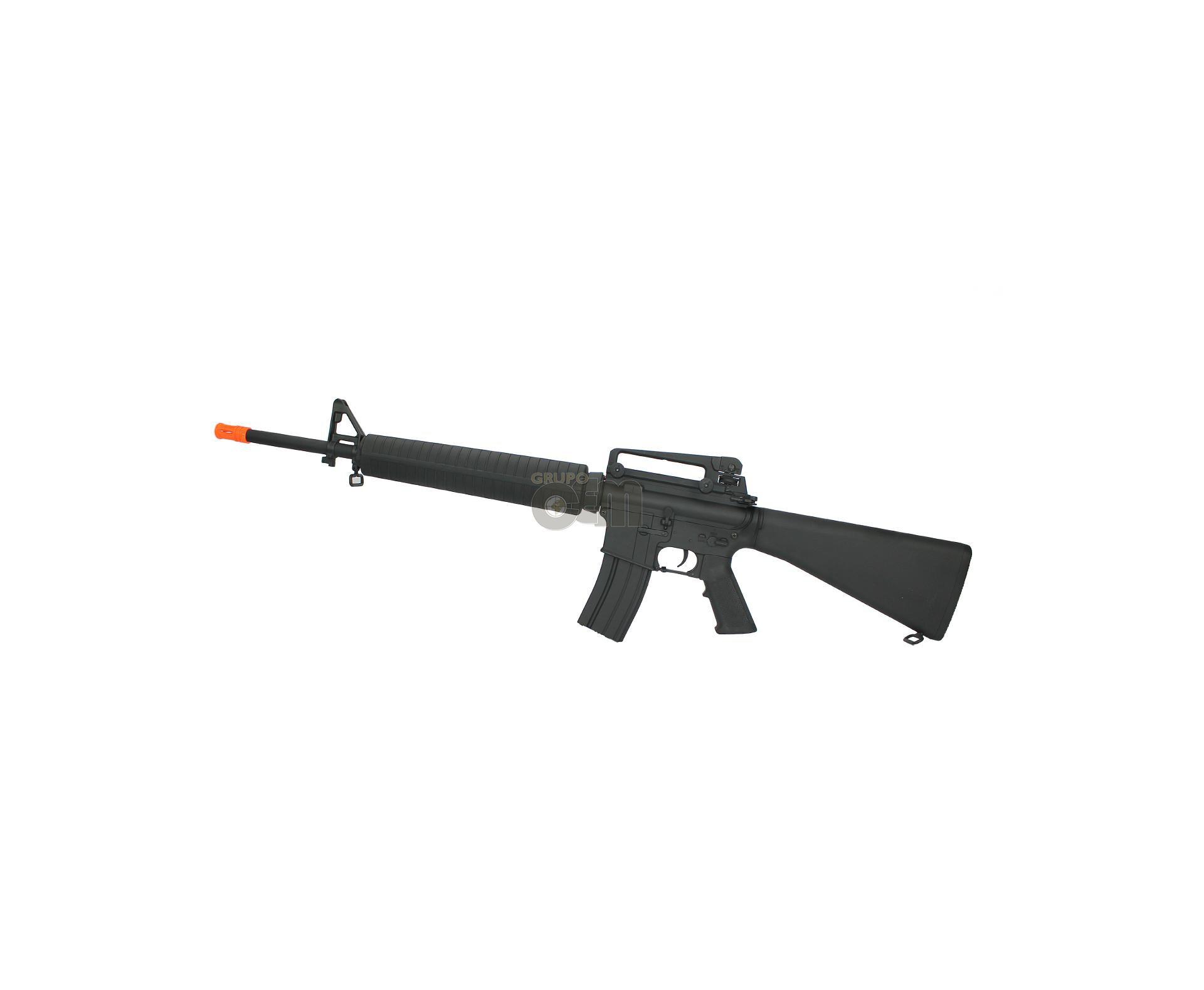 Rifle De Airsoft M16a3 Eletrica - Cal 6mm - Bivolt - Cyma