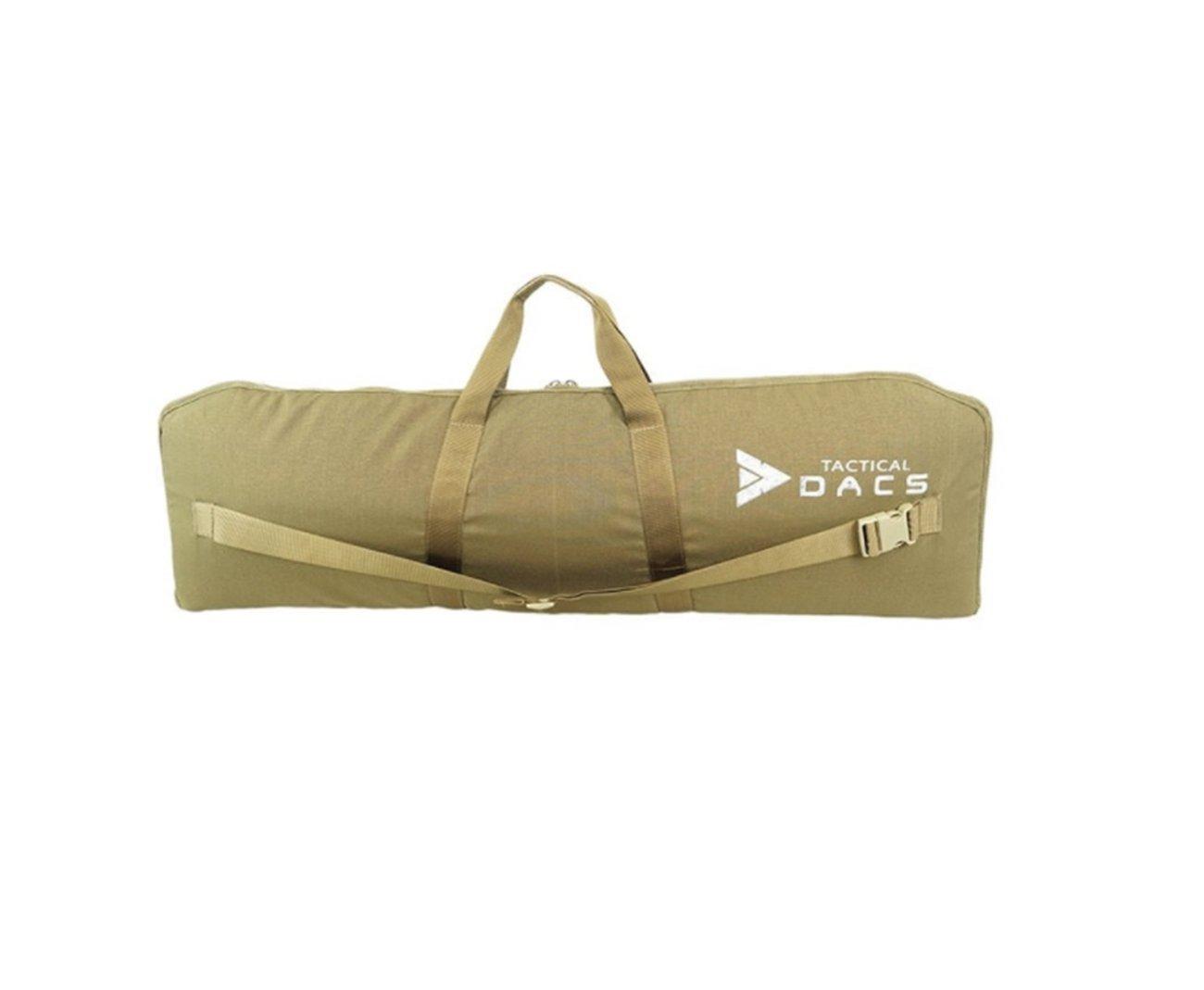 Case Para Arma De Airsoft - 1,00 M X 0,30 M - Dacs - Coyote