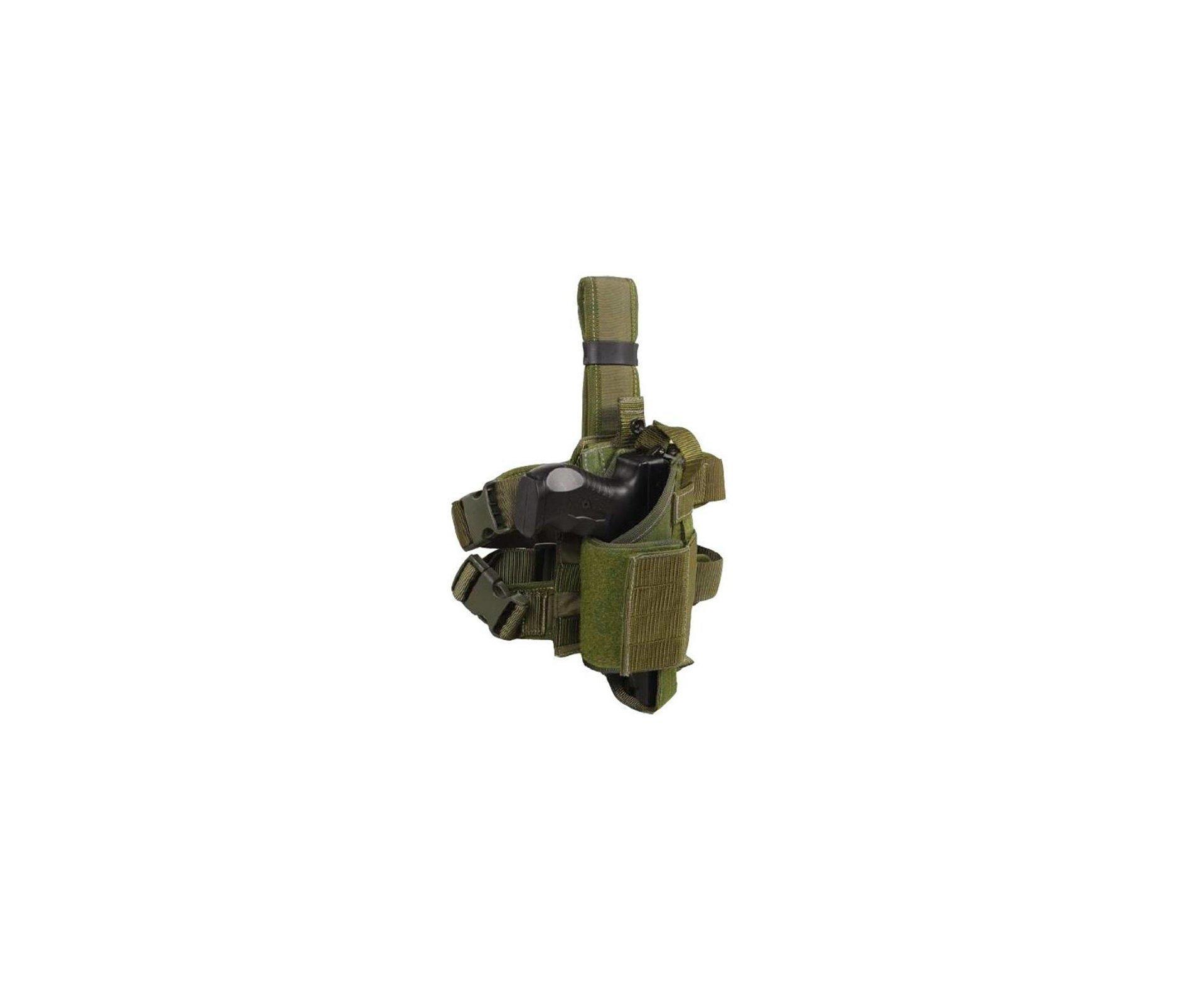Coldre Tático Modular Com Plataforma - Dacs - Verde Militar