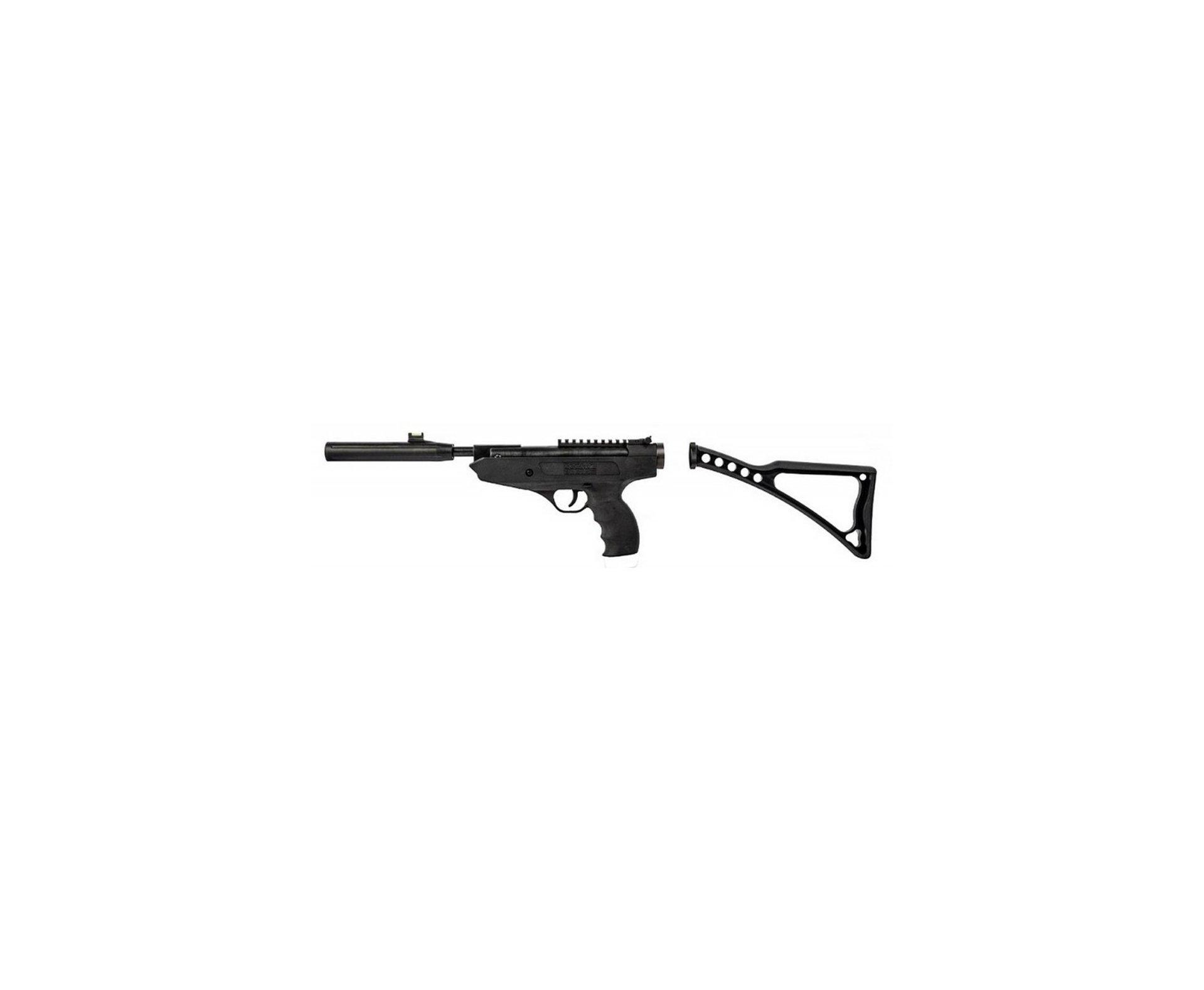 Pistola De Pressão Mod Fire 4,5mm Combo Pistola/carabina -  Swiss Arms