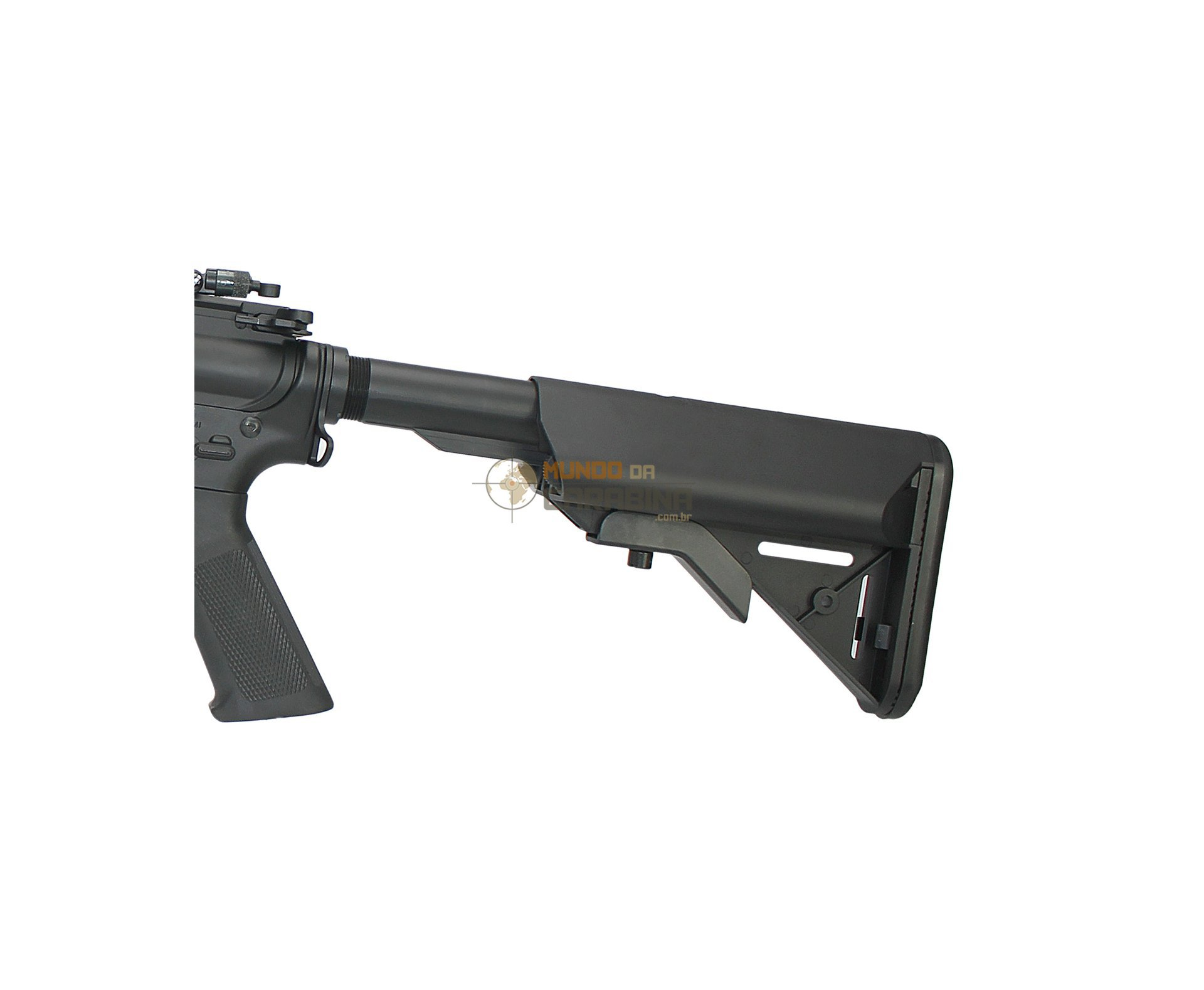 Rifle De Airsoft Colt M4a1 Long Keymod Full Metal Cal 6,0 - Cyber Gun