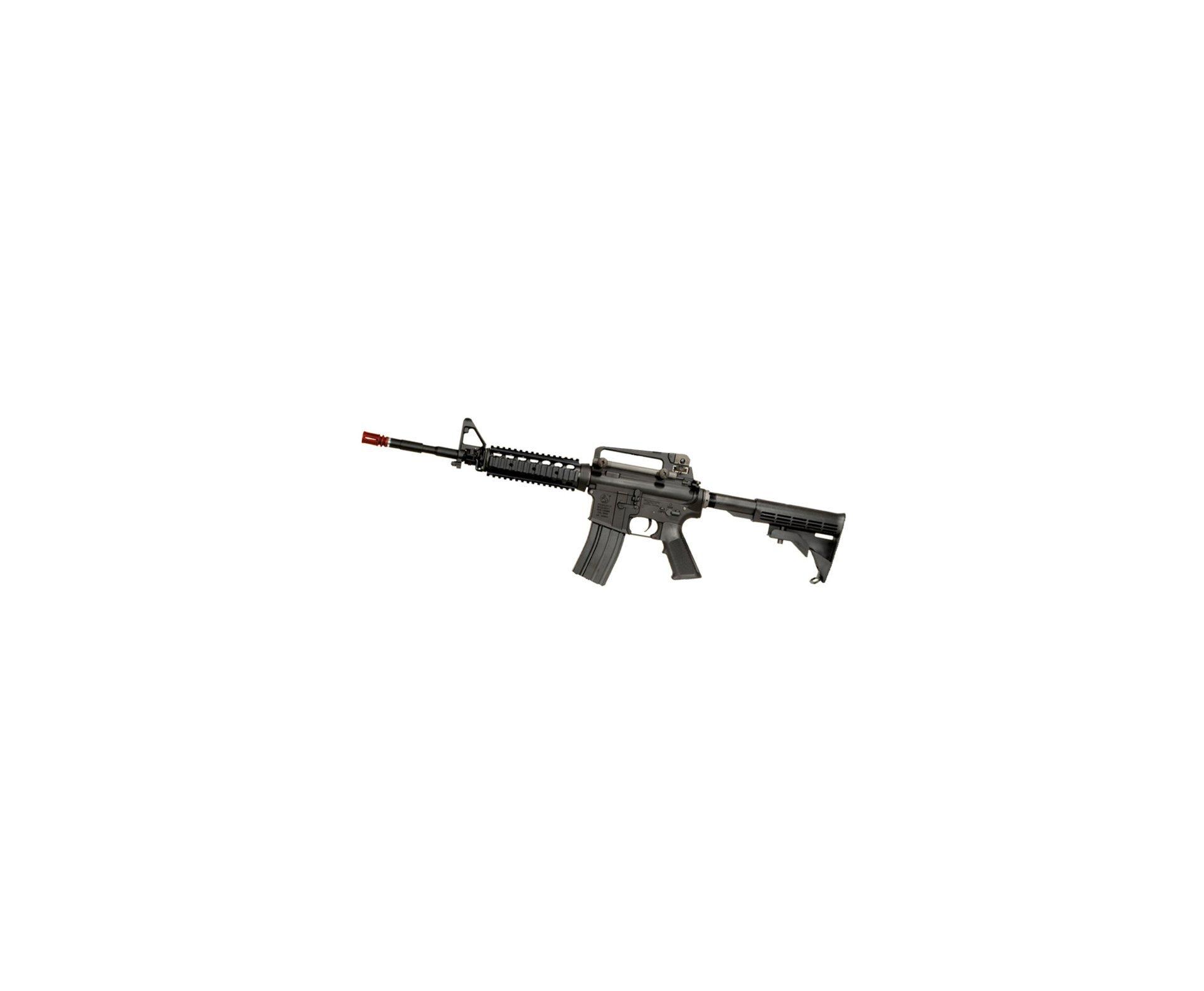 Rifle De Airsoft Colt M4 Ris - Semi Metal - Cal 6,0 Mm -  King Arms