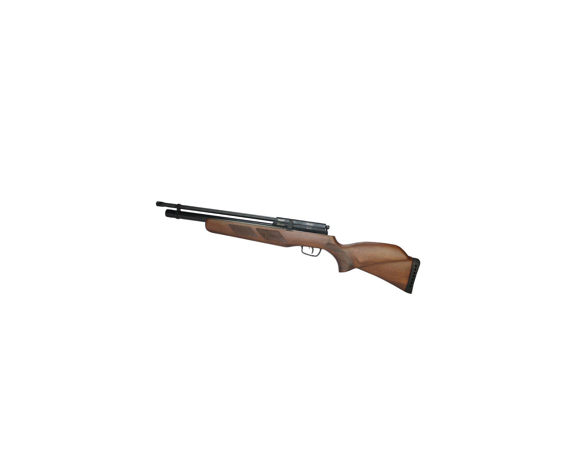 Carabina Pcp Gamo Coyote - Madeira Cal 5,5mm + Bomba Hand Pump Inox - Gamo