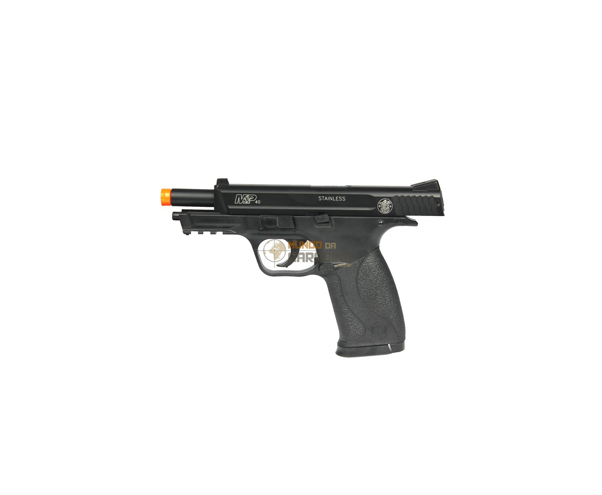 Pistola De Airsoft Smith&wesson Mp 40 - Semi Metal - Cal 6,0 Mm - Cyber Gun