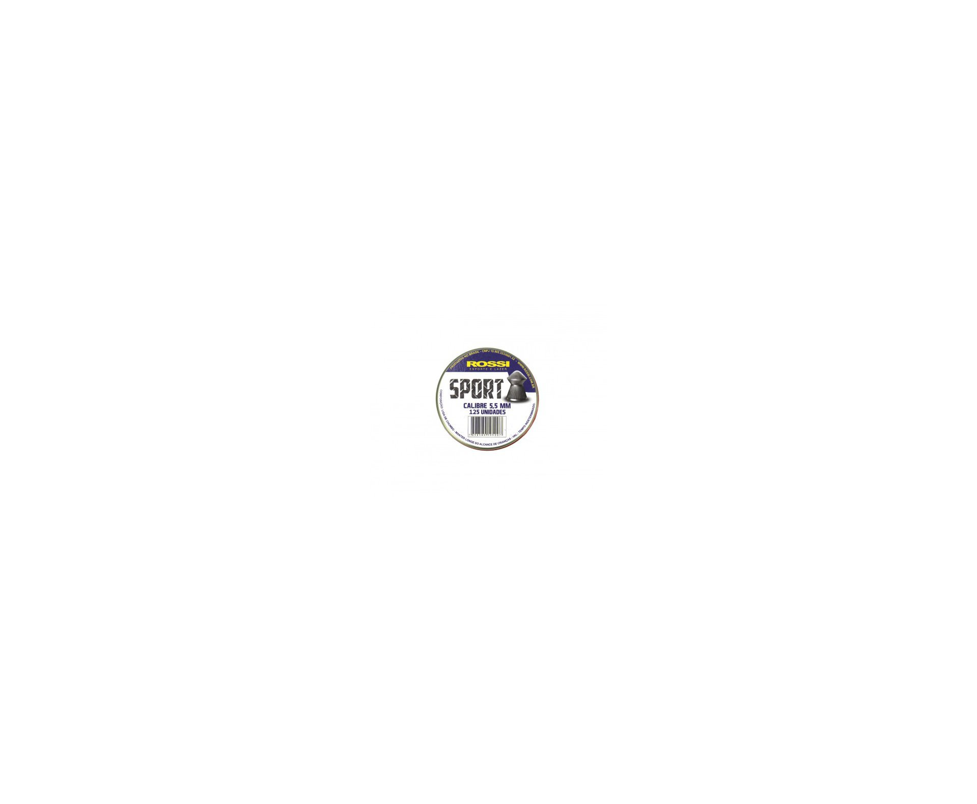 Carabina De Pressão Spring Madeira Cal 5,5mm + Capa + 10 Lata Chumbinho - Fixxar