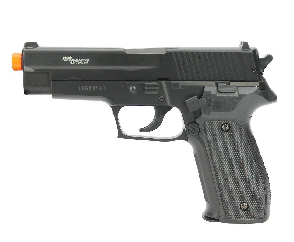 Pistola De Pressão Sig Sauer P226 Slide Metal Cal 4,5mm Cybergun