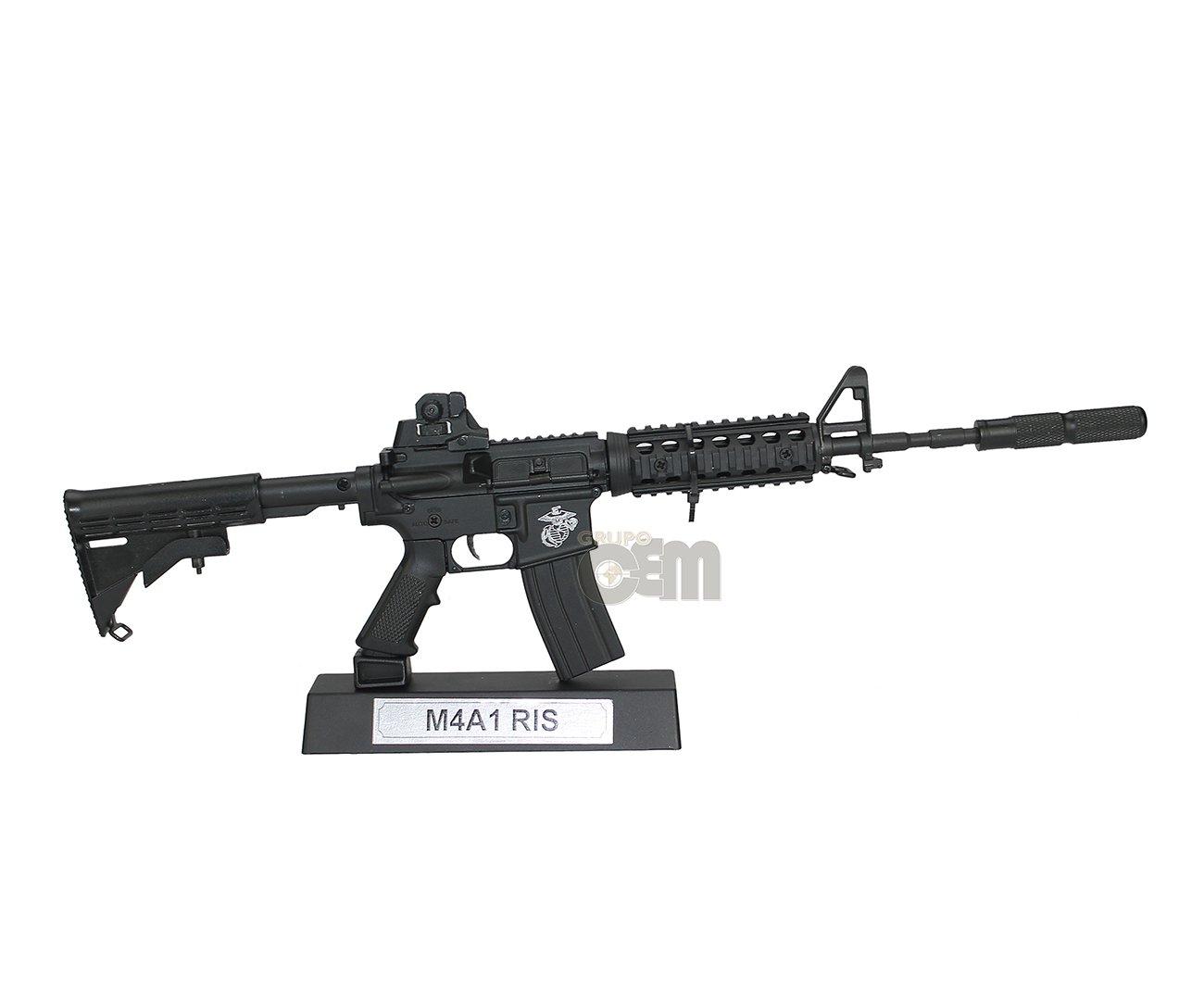 Rifle M4a1 Ris Black Miniaturai Metática - Arsenal Guns