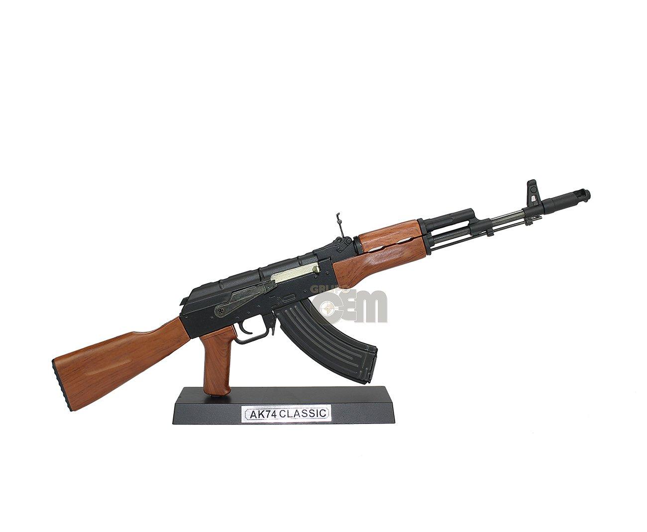 Rifle Ak74 Classic Miniatura Metálica - Arsenal Guns