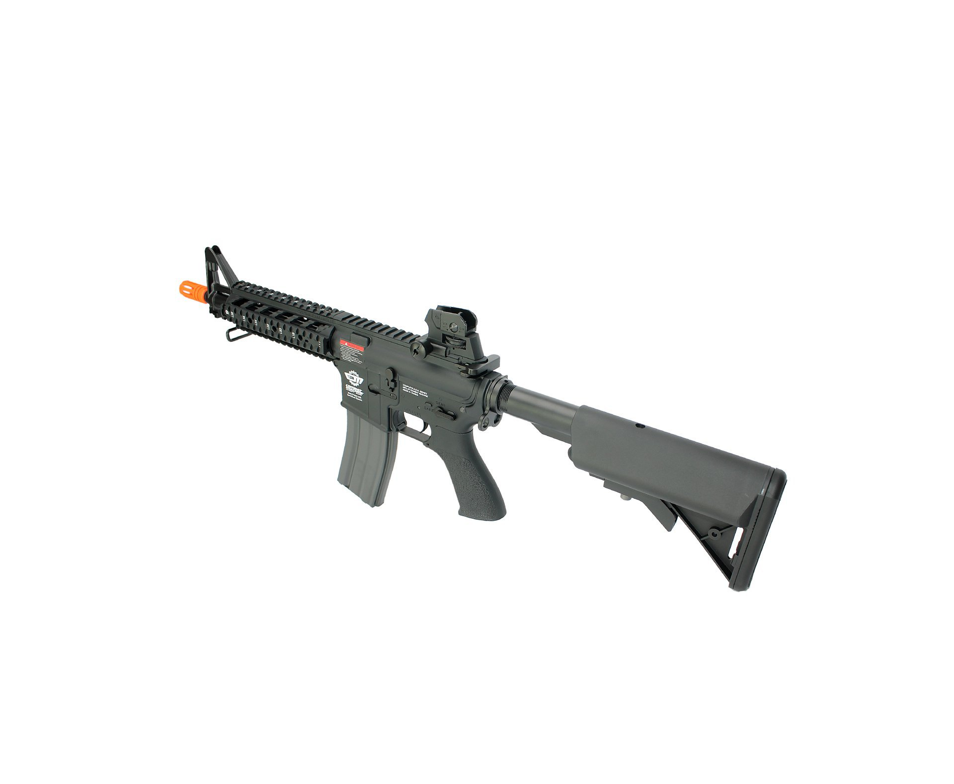 Rifle De Airsoft M4 Cm16 Raider Curto - Calibre 6,0 Mm - Aeg - G&g