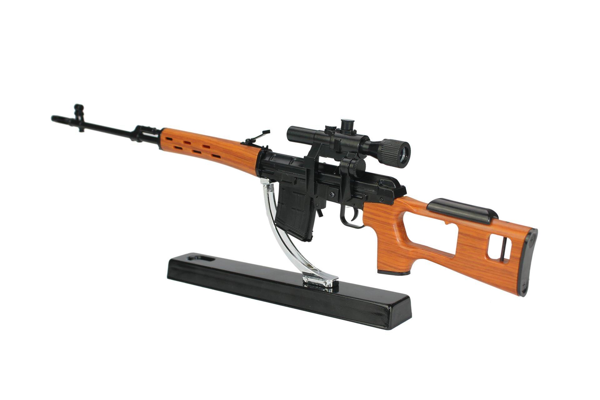 Rifle Sniper Dragunov Svd Miniatura Metálica - Arsenal Guns