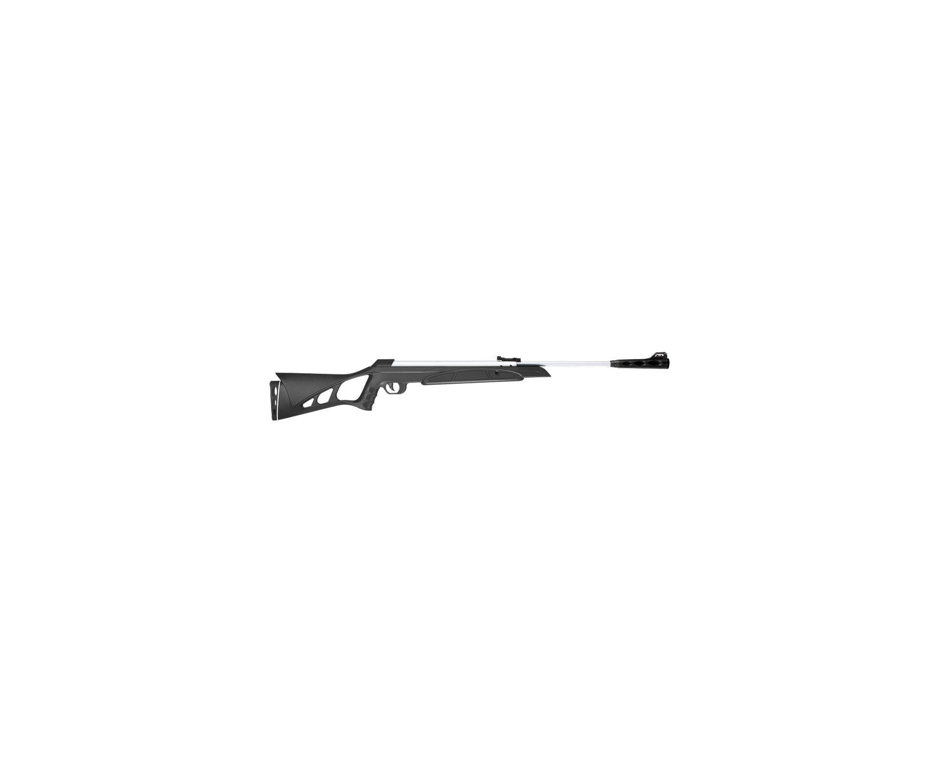 Carabina De Pressão Cbc Nitro-x 900 Soft Action - Calibre 5,5 Mm - Cromada
