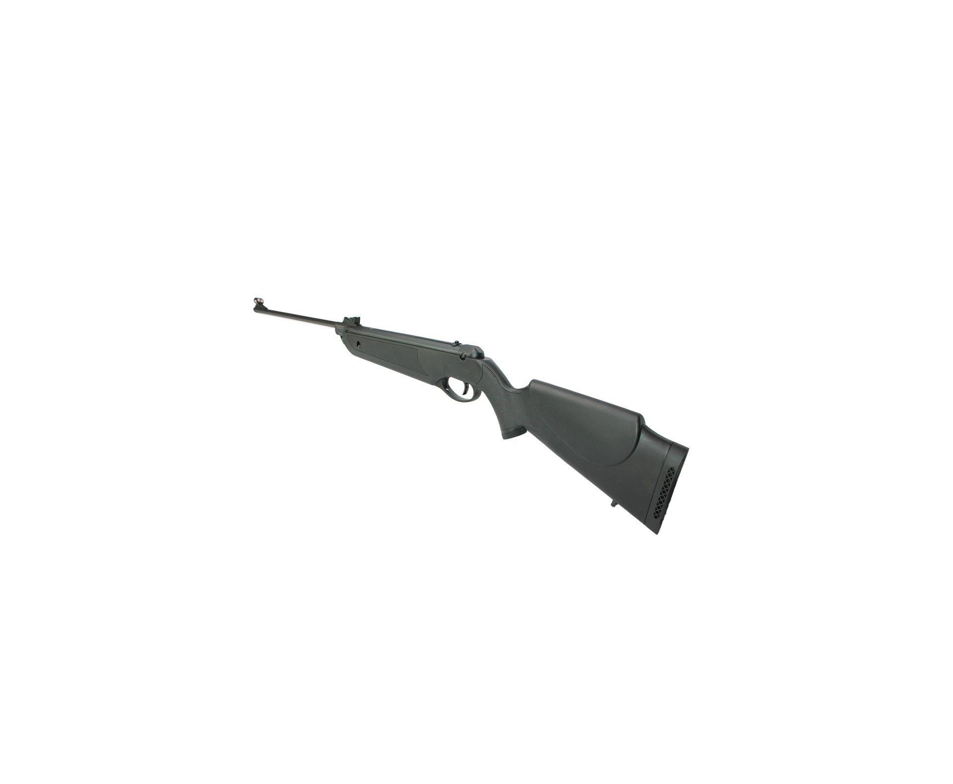 Carabina De Pressão Nova Dione Black Cal 5,5mm - 3° Geração Rossi + Luneta 4x20 + Chumbinhos + Capa 45