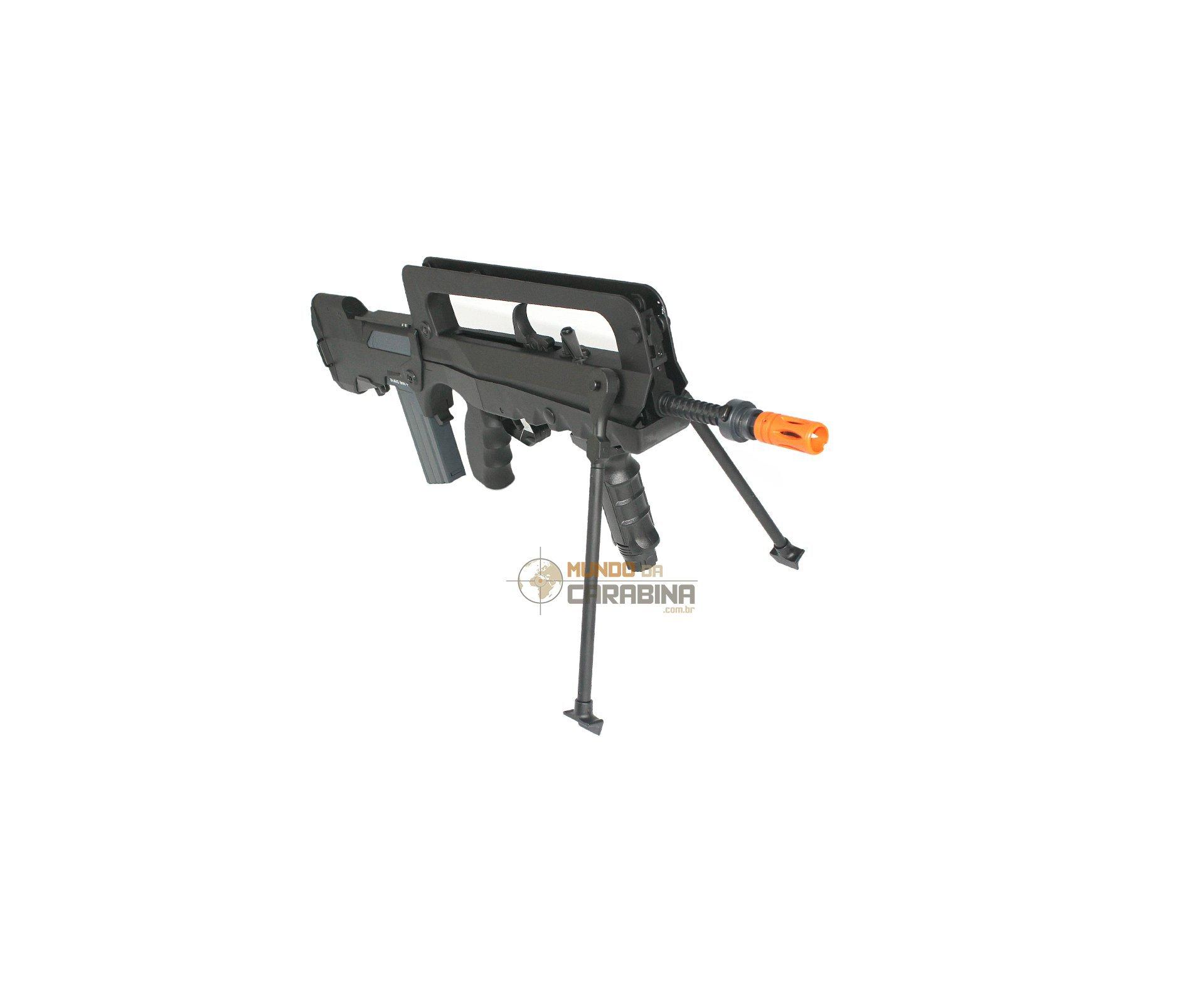 Rifle De Airsoft Famas F1 - Cal 6,0 Mm - Cyber Gun - 220 V