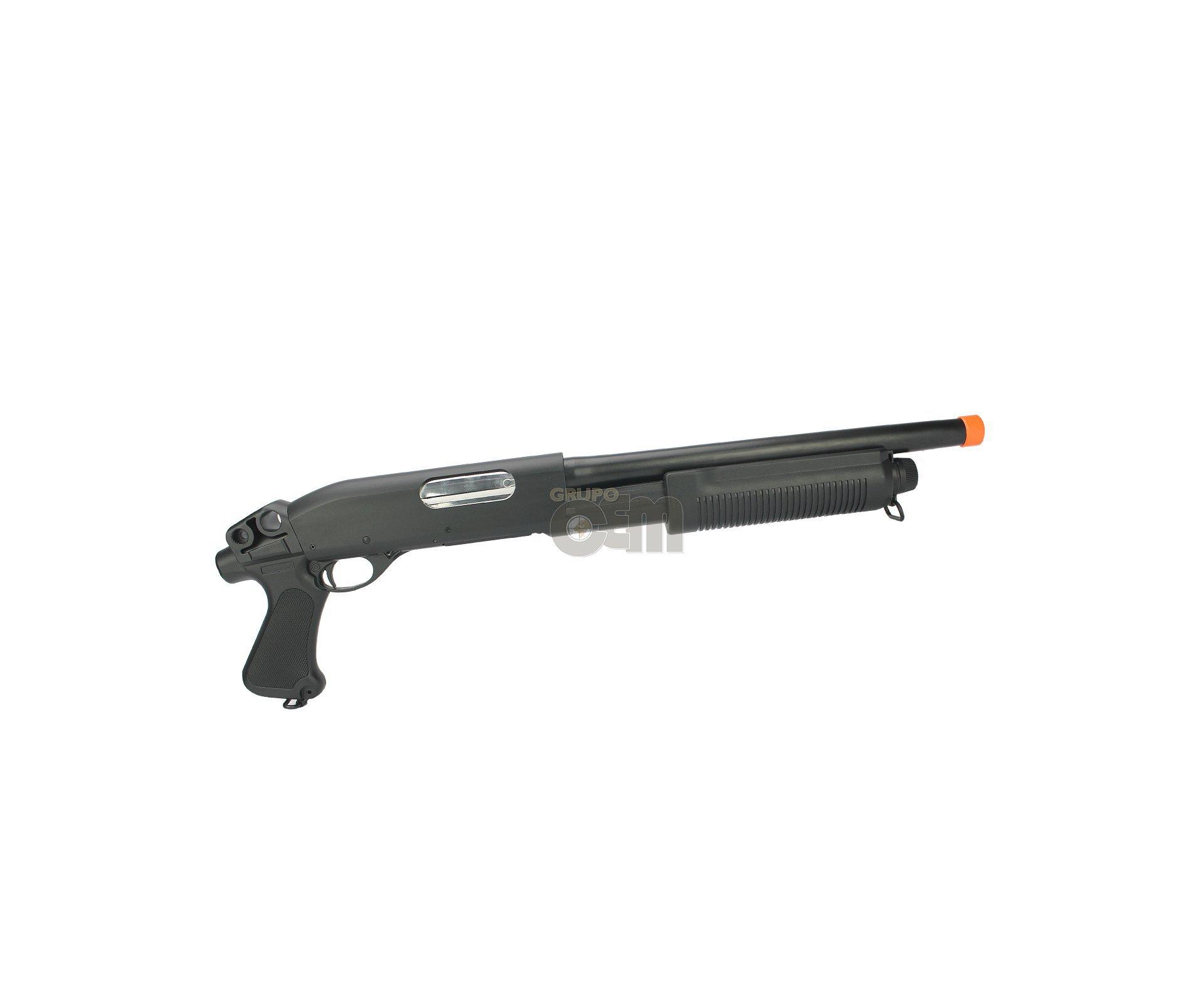Shotgun / Escopeta De Airsoft Shotgun M870 Pistol Grip Cal 6,0 Mm - Cm351 - Cyma