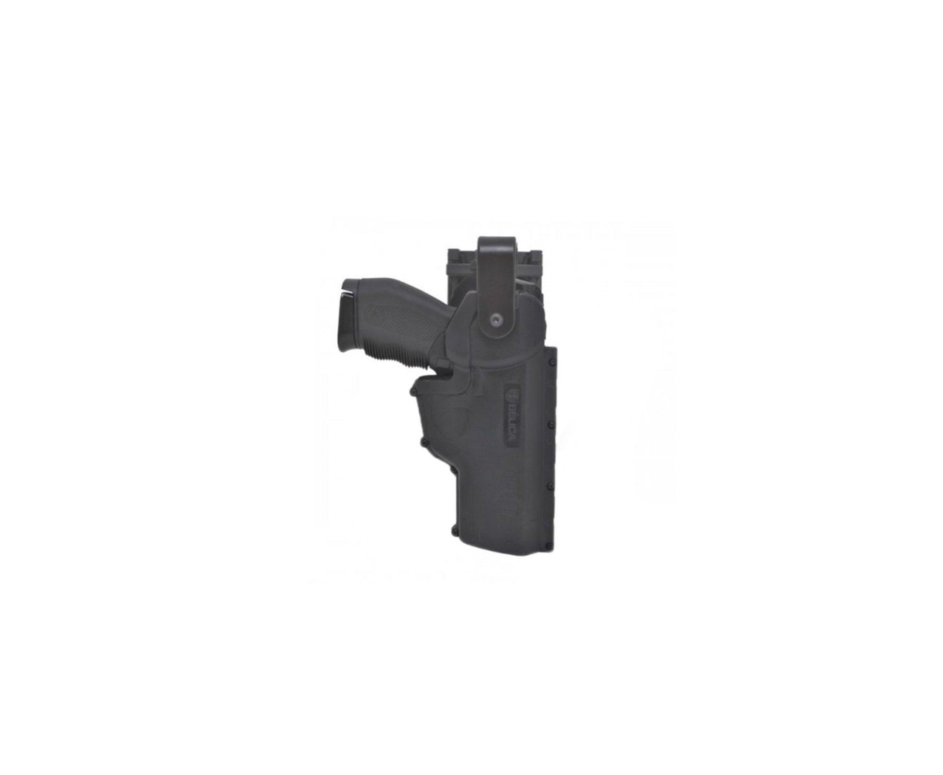 Coldre Hammer De Cintura Glock, 24/7, Taurus Diversas - Polimero - Canhoto- Belica