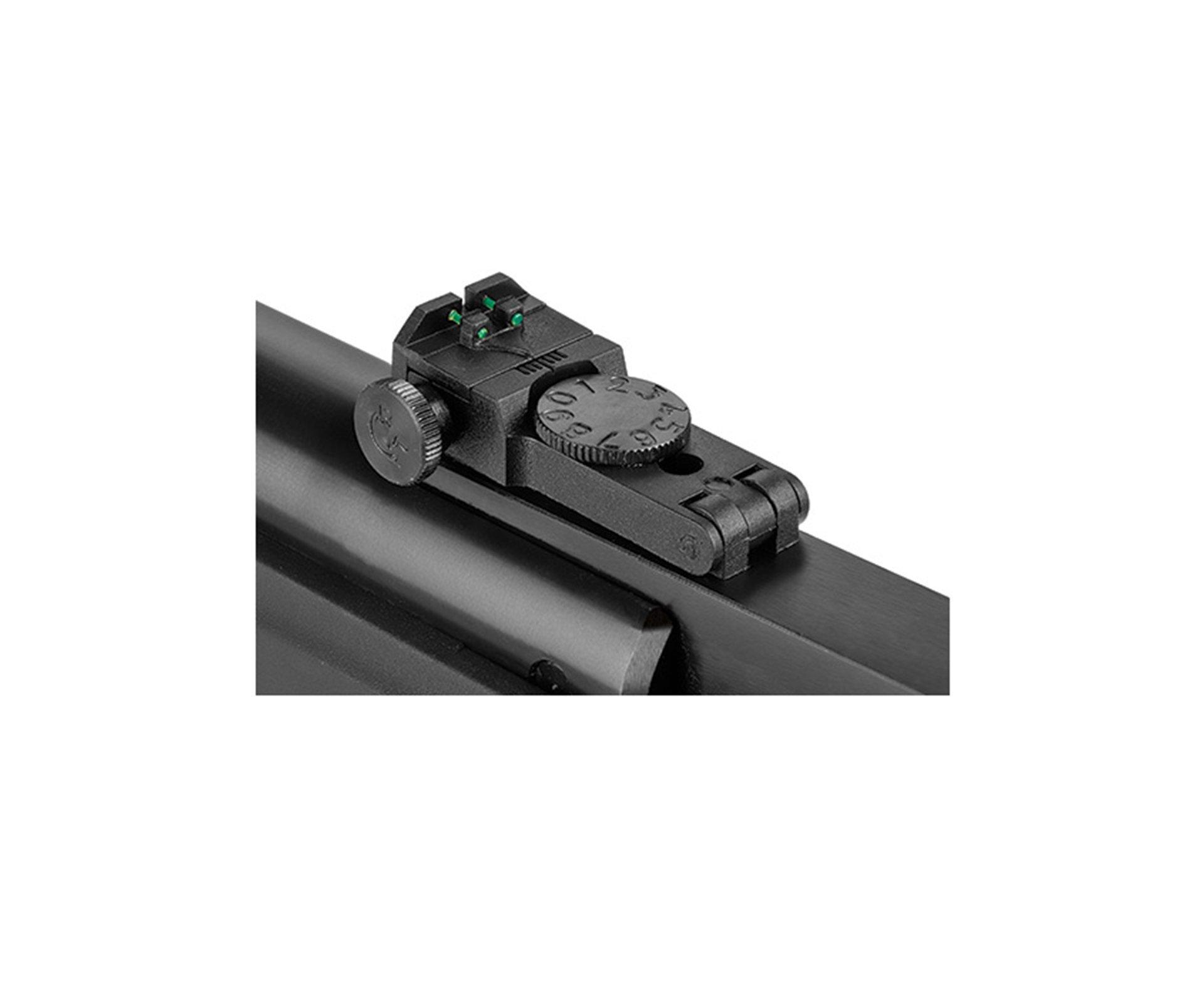 """Carabina De Pressão Ht 95 Calibre 5,5 Mm Com Pistão Pneumático + Capa 46"""" - Hatsan"""