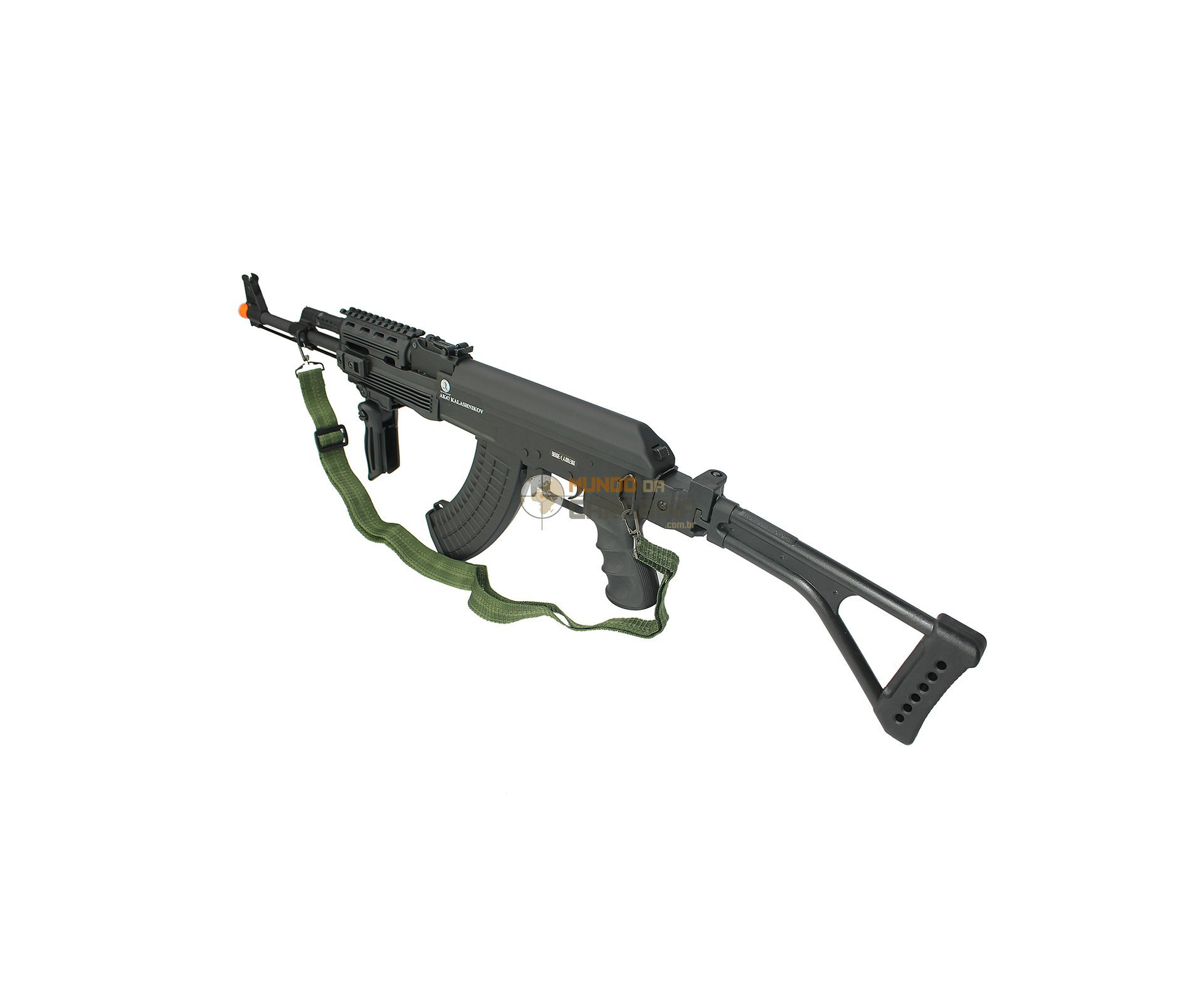 Rifle De Airsoft Ak 47 Tático Semi Metal - Calibre 6,0 Mm - Cyber Gun