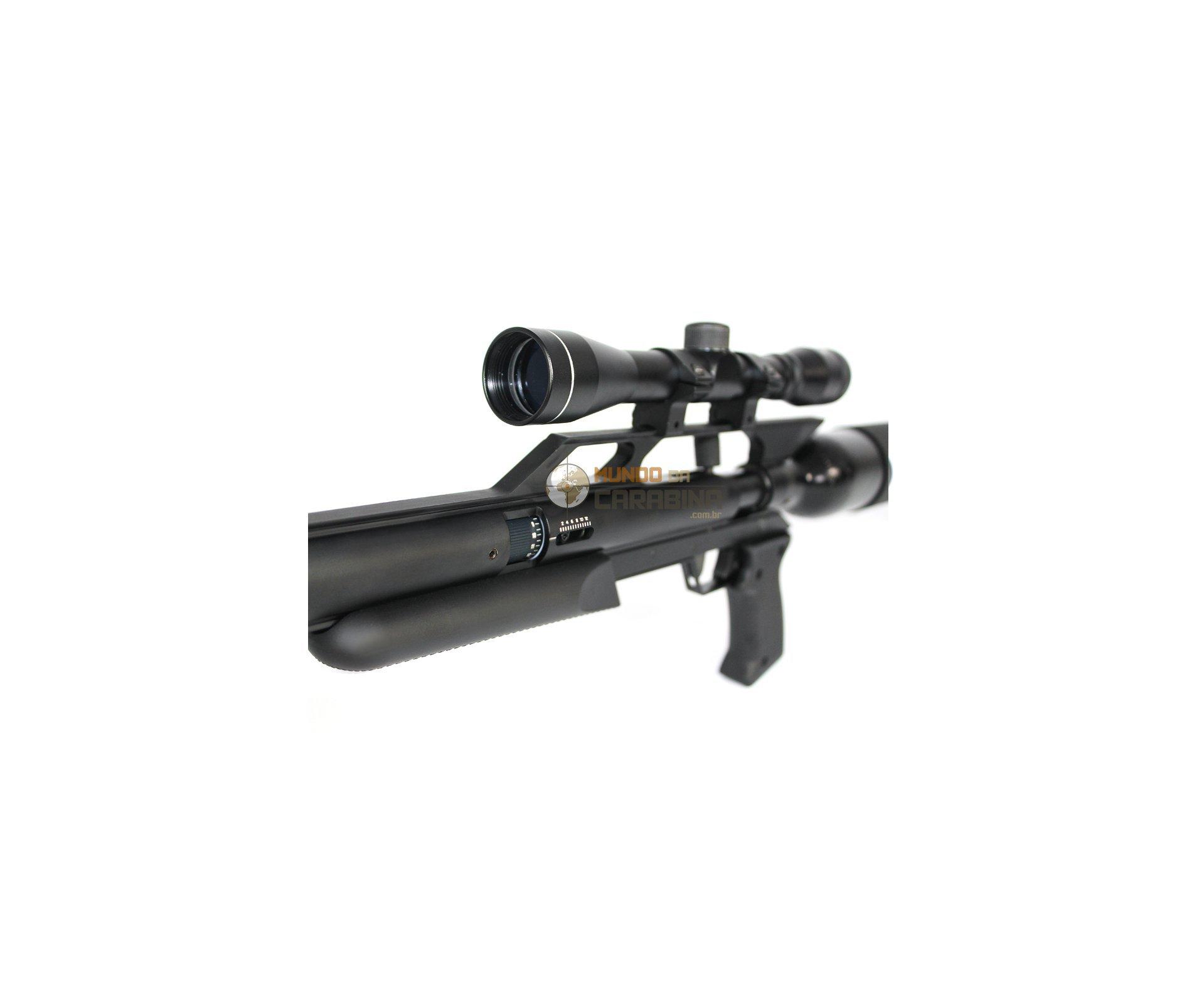 Rifle Gunpower Sss + Luneta 4x32 + Case Rossi + Sem Supressor - Calibre 5,5 Mm - Monotiro