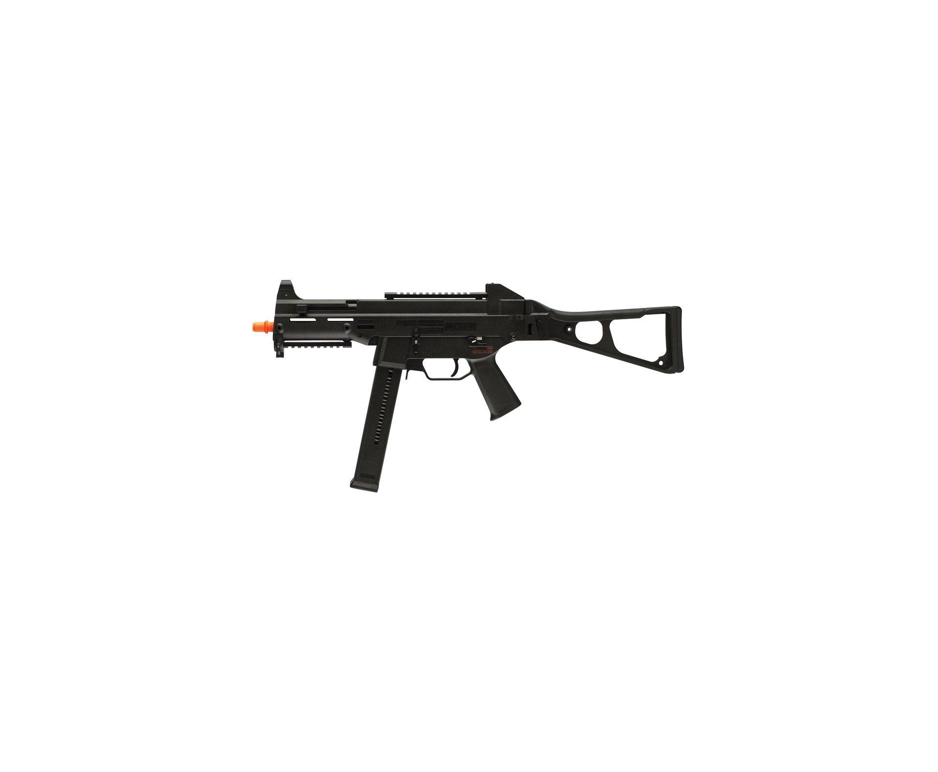 Rifle De Airsoft H&k Ump Aeg - Cal 6.0mm + Capa Huntig + 4000 Bbs 0,20g - Umarex
