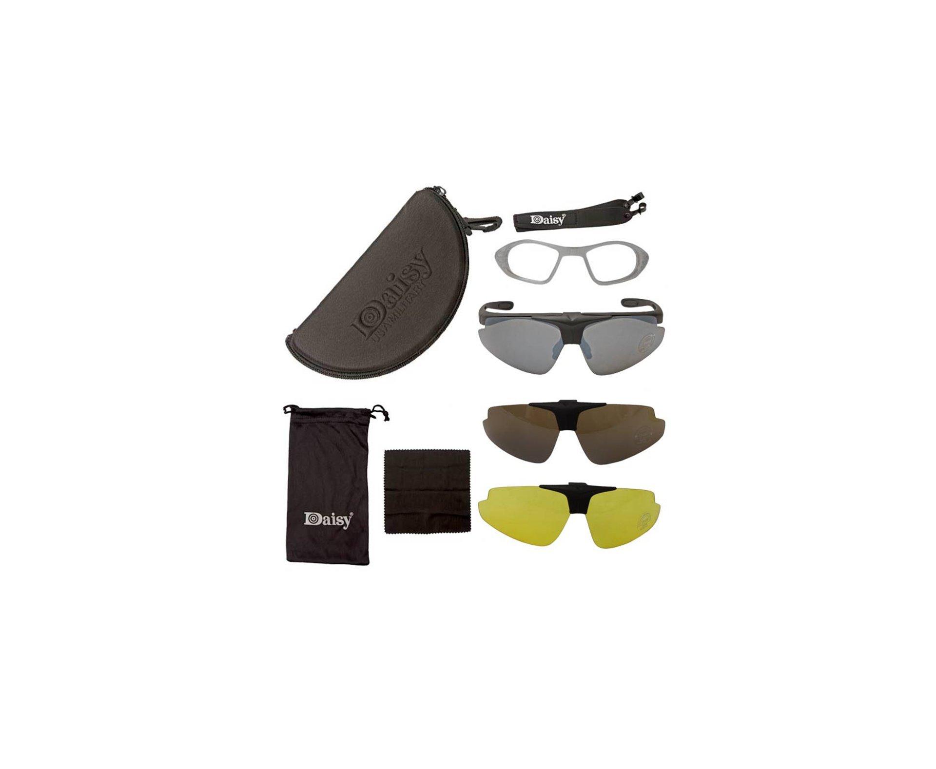 óculos Tatico Para Tiro Esportivo Daisy C1 - Daisy Military