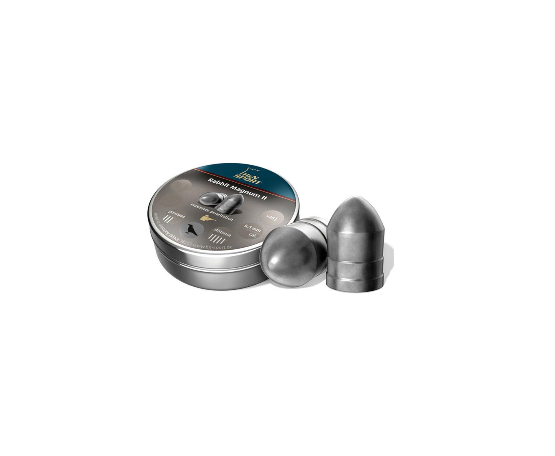 Chumbinho H&n Rabbit Magnum Ii 5,5mm (200un)