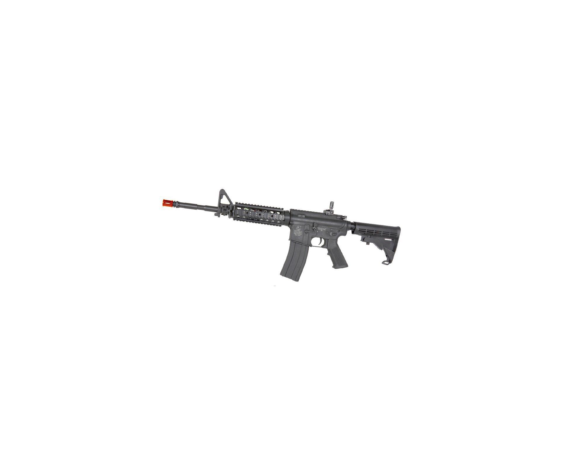 Rifle De Airsoft Colt M4 Ris - Full Metal - Cal 6,0 Mm - Cyber Gun