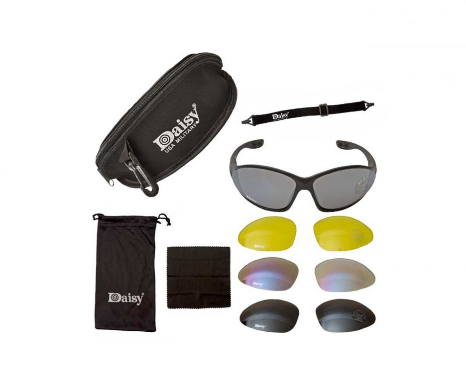 óculos Tatico Para Tiro Esportivo Daisy C4 - Daisy Military