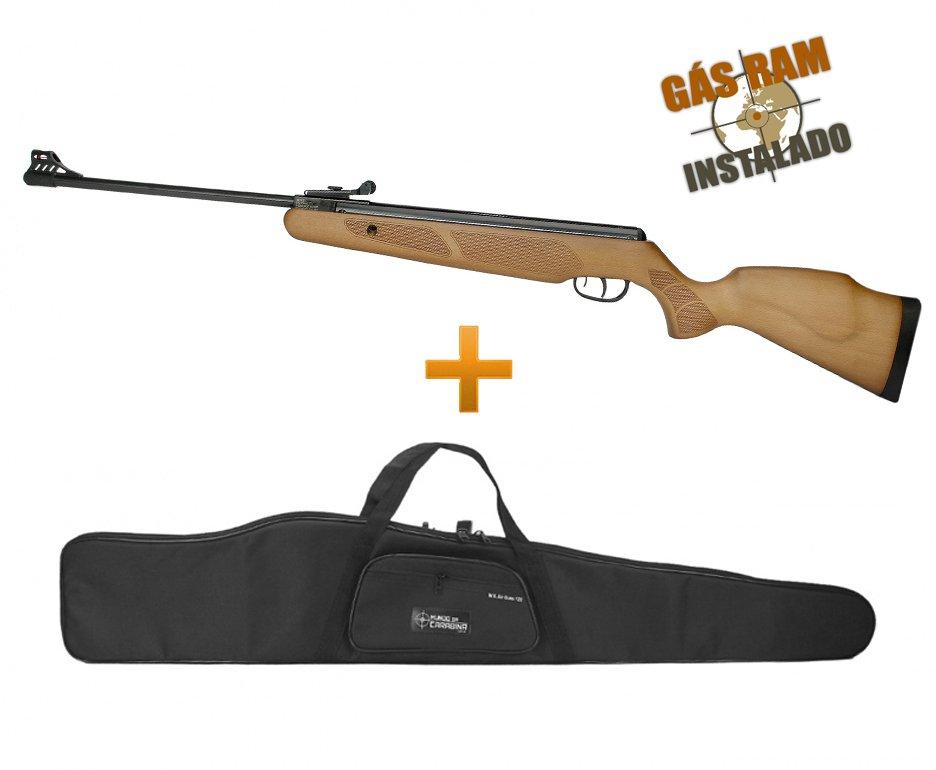 Carabina De Pressão Cbc B19-x 4,5mm Magnum Com Gás Ram 60kg Instalado + Capa Especial
