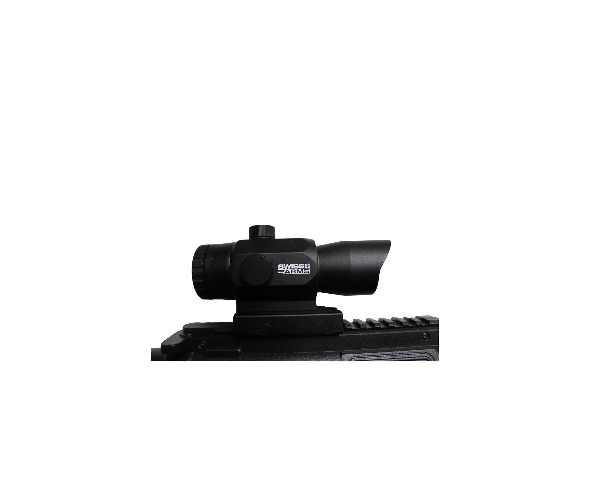 Carabina De Ar Crosman M4-177 Multi Pump - Cal 4,5 Mm + Luneta 3x32 Compacta + Capa Especial
