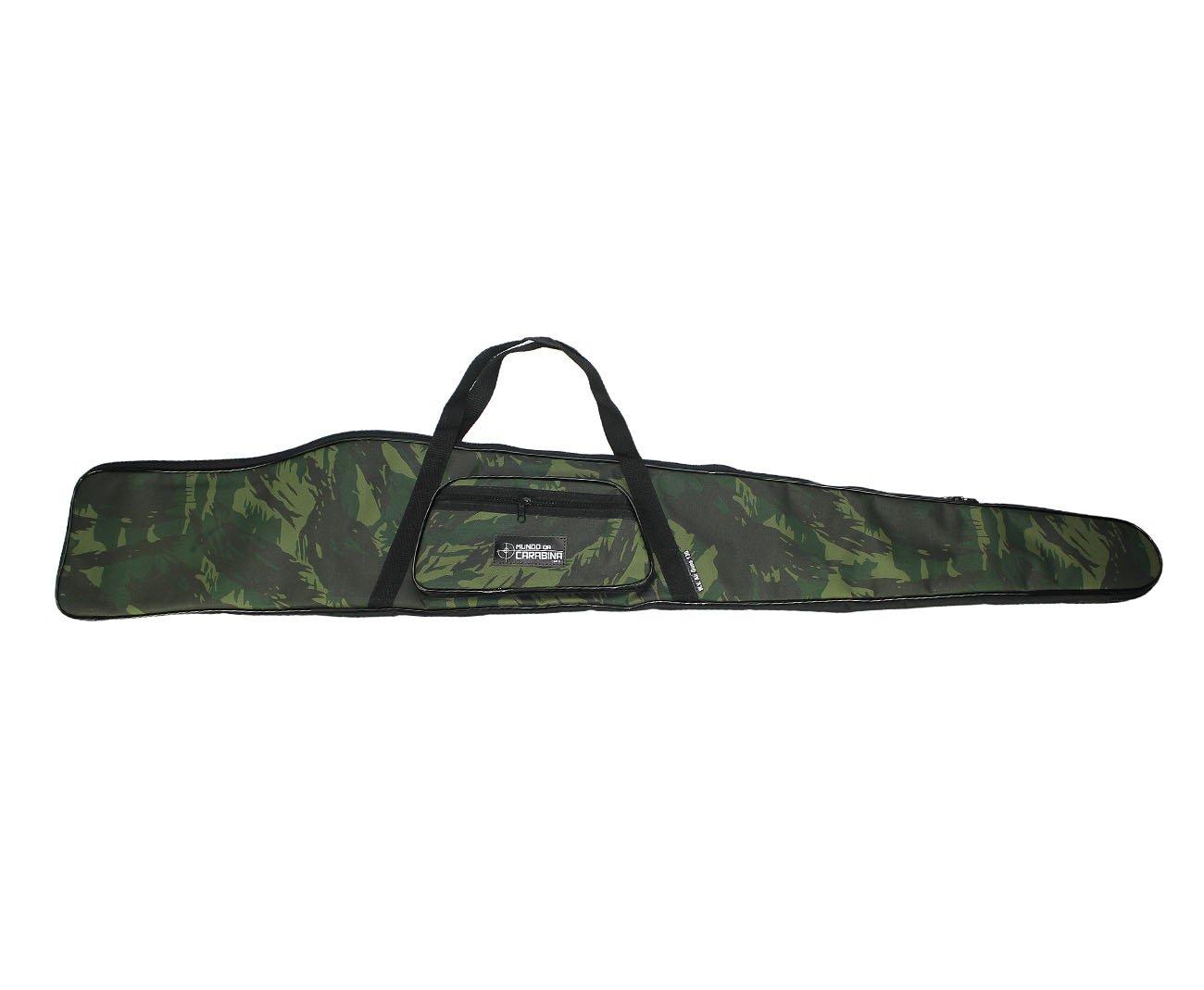 Capa Para Carabina Super Camuflado 130cm - Mundo Da Carabina