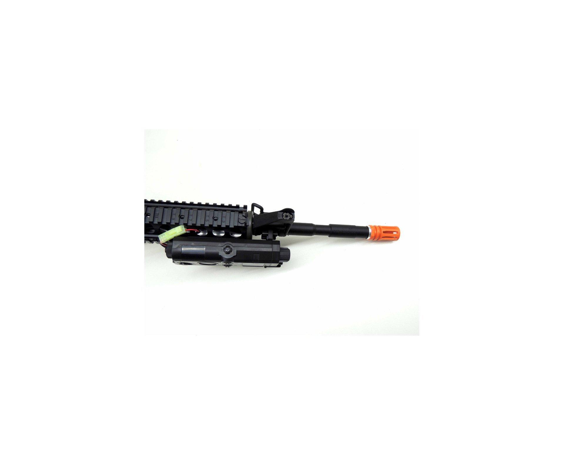 Rifle De Airsoft Colt M4a1ris Cal 6,0mm - King Arms + Farda Marpat Digital Selva Swiss+arms - Tamanho M