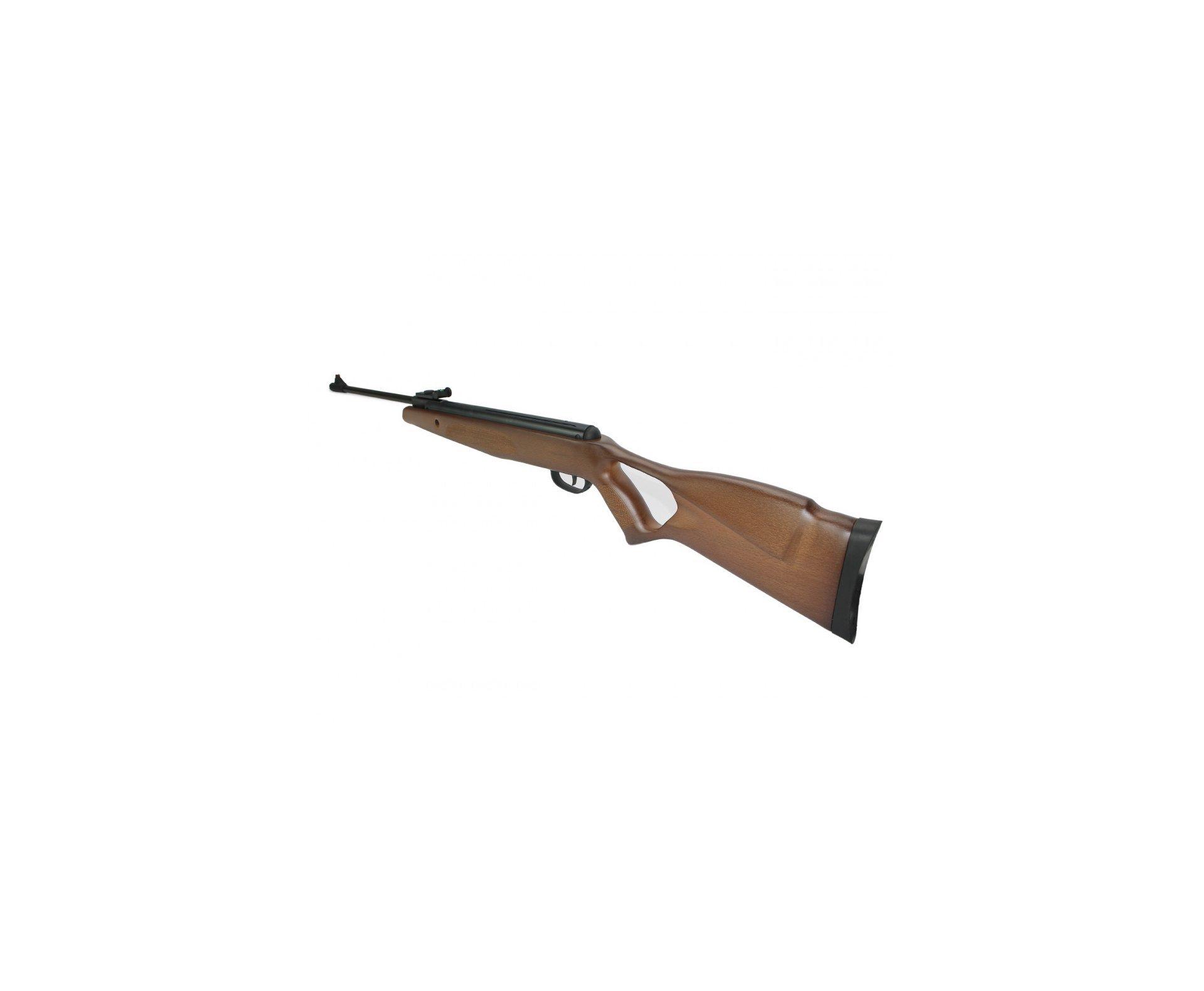 Carabina De Pressão Bam B19-z Hunter Wood Match 5.5mm Com Gas Ram 50kg - Swbr