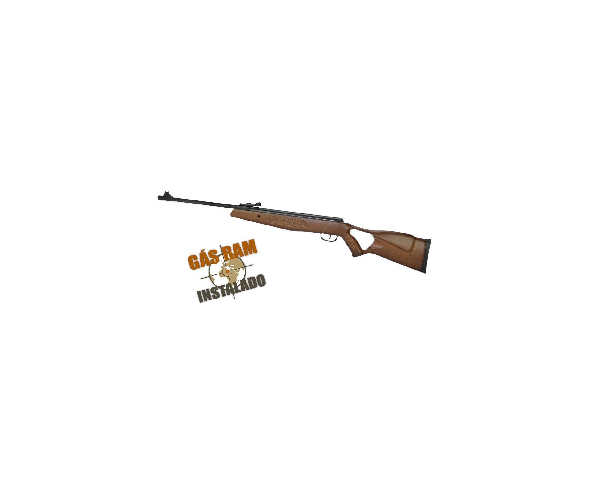 Carabina De Pressão Bam B19-z Hunter Wood Super Match 5.5mm Com Gas Ram 45kg - Swbr
