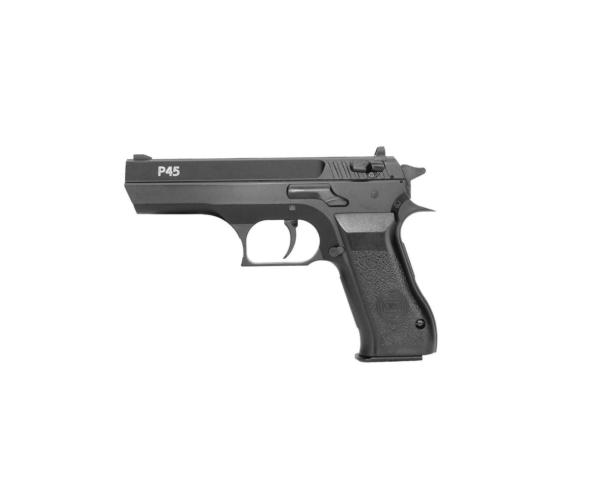 Pistola De Pressão Pcp Kwc P45 Cal 4,5mm Full Metal - Rossi