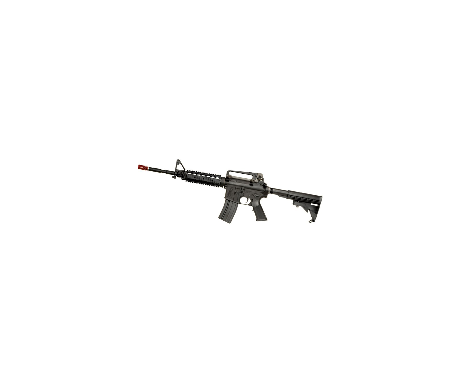Rifle De Airsoft Colt M4a1ris Cal 6,0 Mm - King Arms + Farda Acu Digital Urban Swiss+arms - Tamanho M