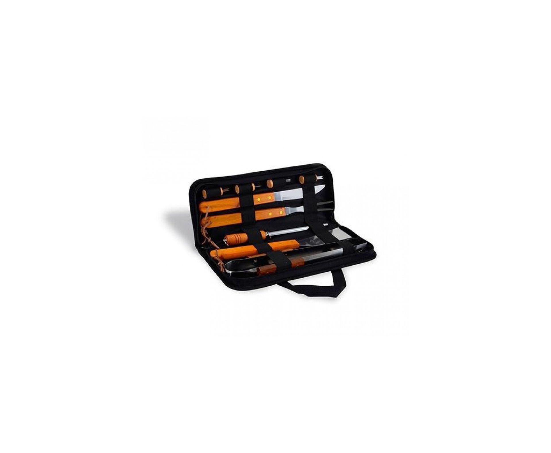 Carabina De Pressão Shadow Black Cal 5.5mm + Kit Churrasco 10 Peças Fixxar