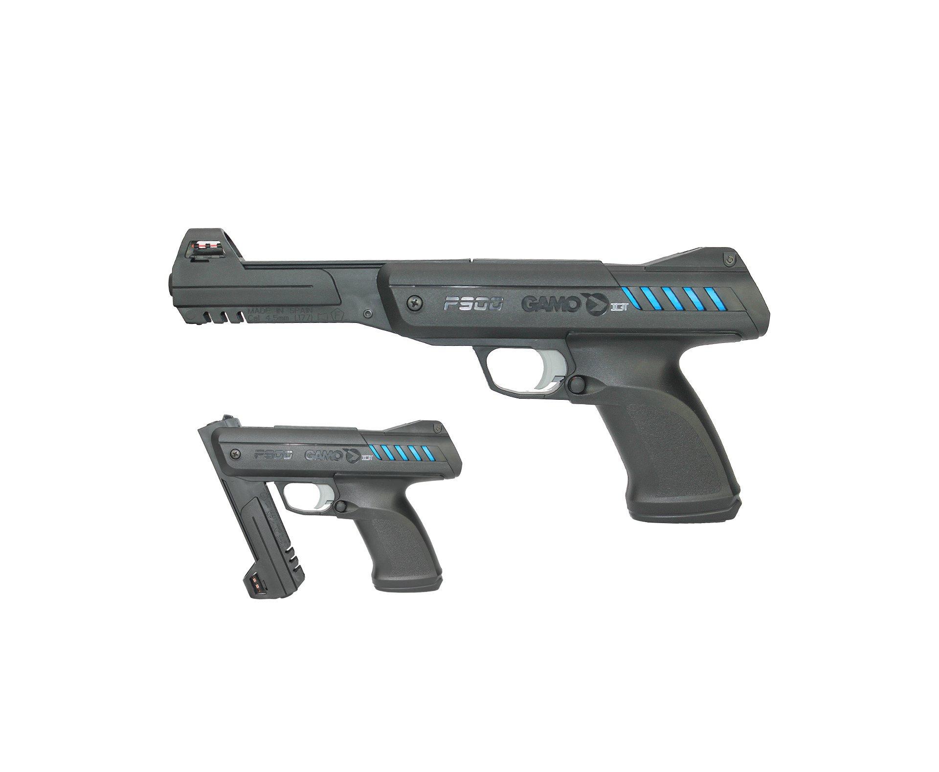 Pistola De Pressão Modelo P-900 Gas Ram Igt Cal 4.5mm