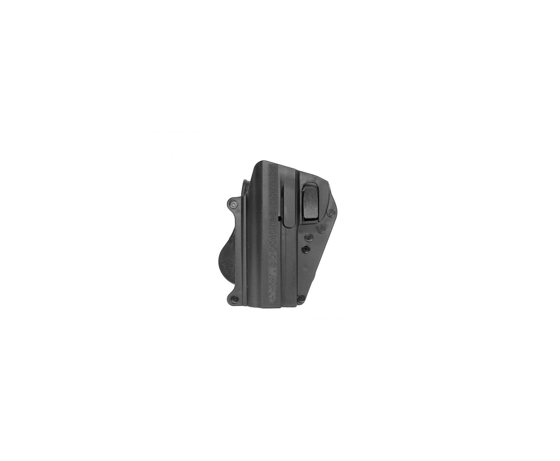 Coldre Cintura Para Pistola Imbel M1d 1,2,5 E Pt100 Canhoto So Coldres