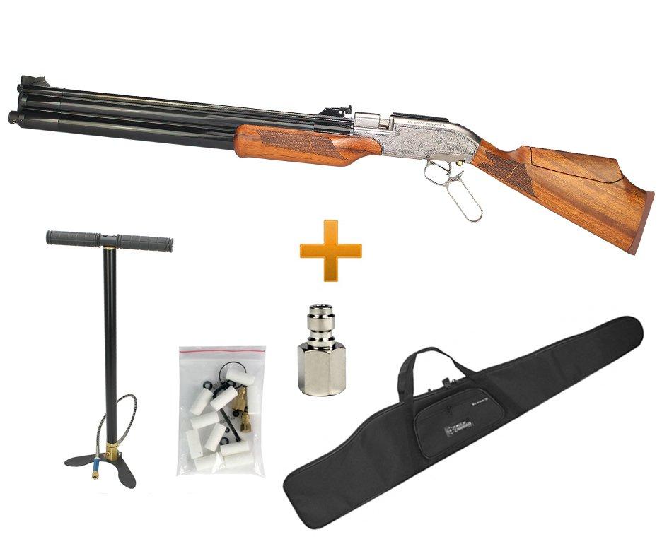 Rifle Sumatra 500 Under Lever Action Cal 5.5 Mm + Bomba Manual + Capa
