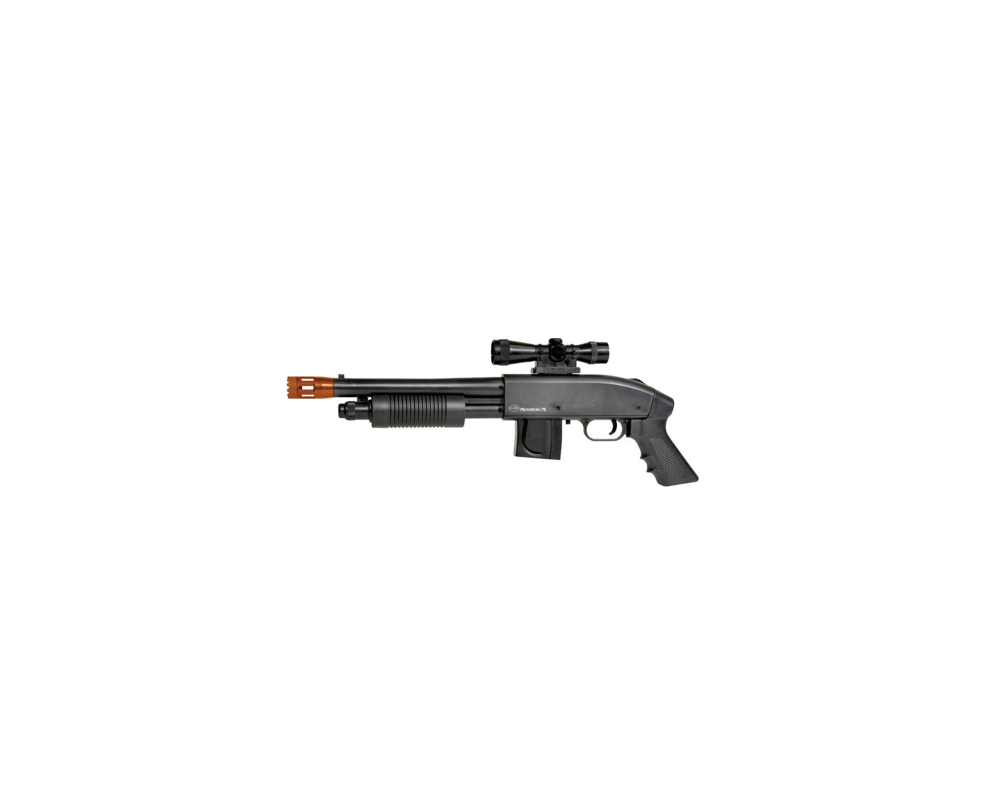 Escopeta (shotgun) Airsoft Mossberg M590 - Cal 6,0 Mm - Cyber Gun