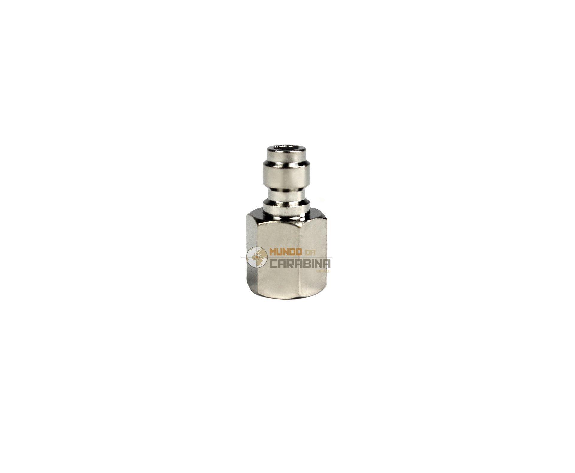 Carabina De Pressão Gamo Pcp Chacal Black Whisper Polimero 5.5 + Luneta 4x32 Gold + Bomba Manual