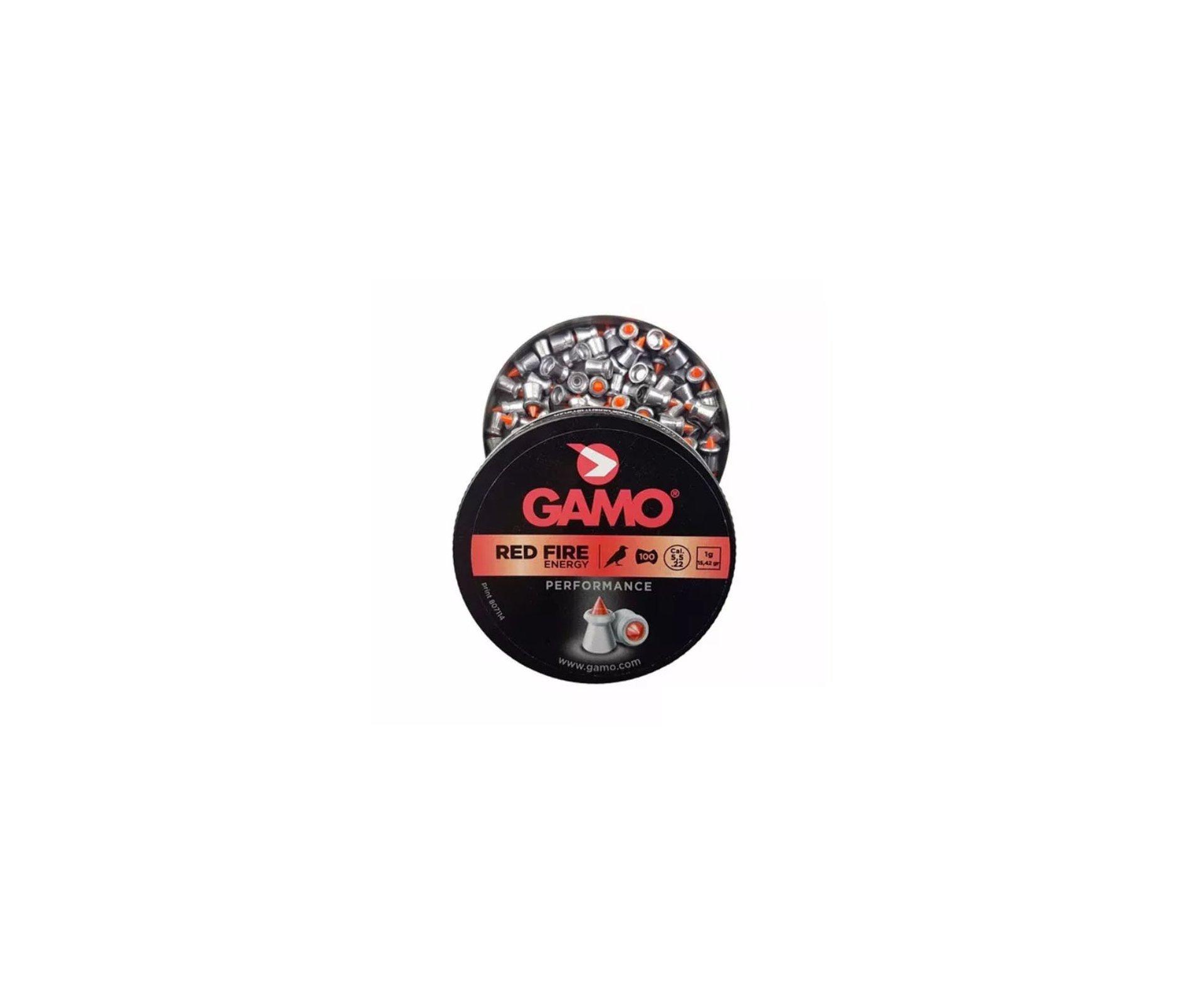 Chumbinho Red Fire Gamo Cal 5.5mm  Com 100und