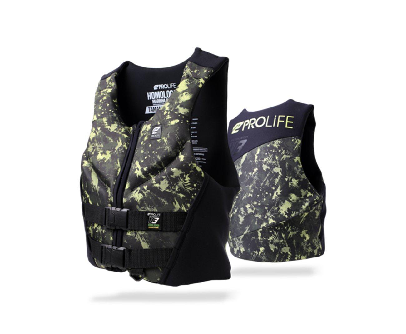 Colete Neoprene New Protech V3 Homologado Army Tam P - Prolife