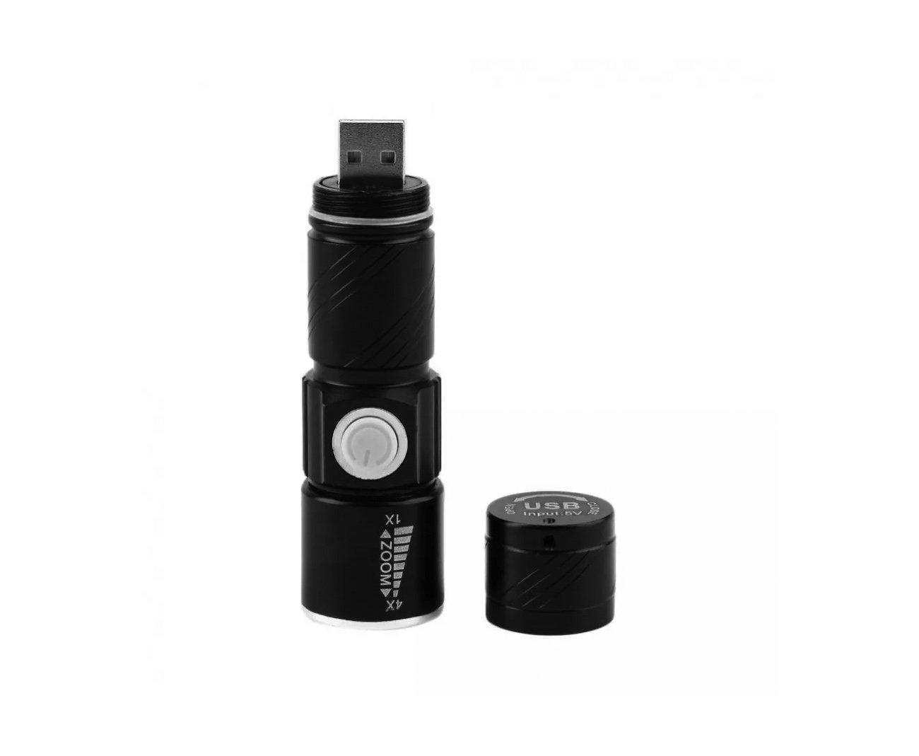 Lanterna Recarregável 150 Lumens - Clip Usb