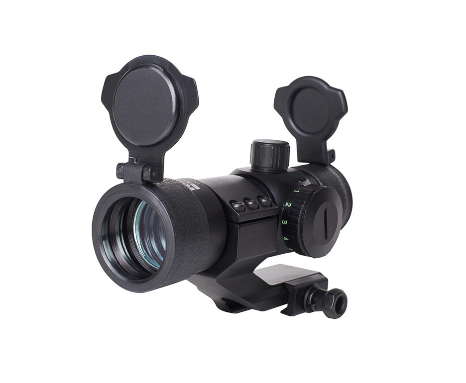 """Mira Holográfica 1x30 (red-dot) Mounts 7/8"""" - Rossi"""