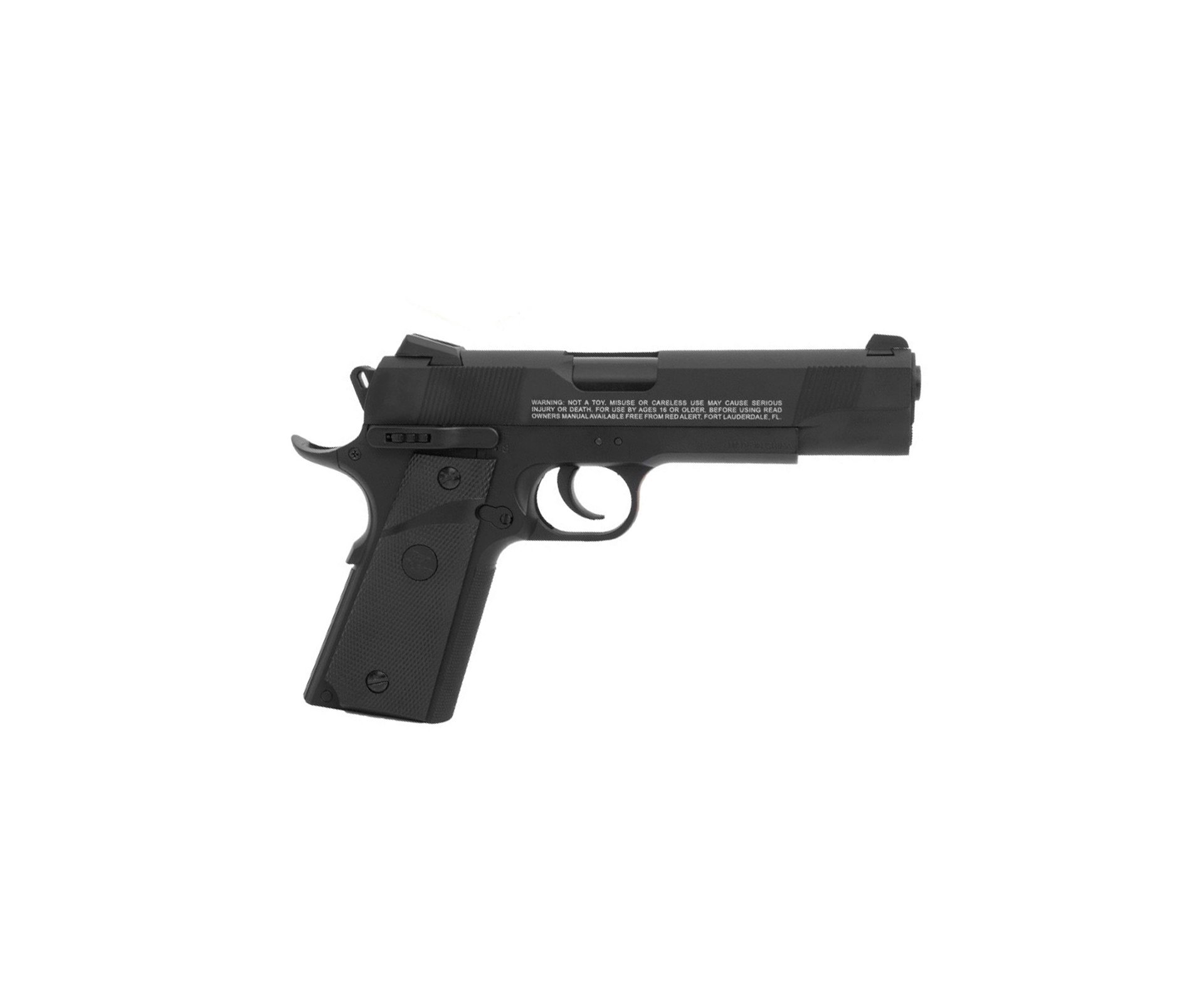 Pistola De Pressão A Gás Co2 Rd-1911 Blowback 4.5mm - Red Alert   Gamo