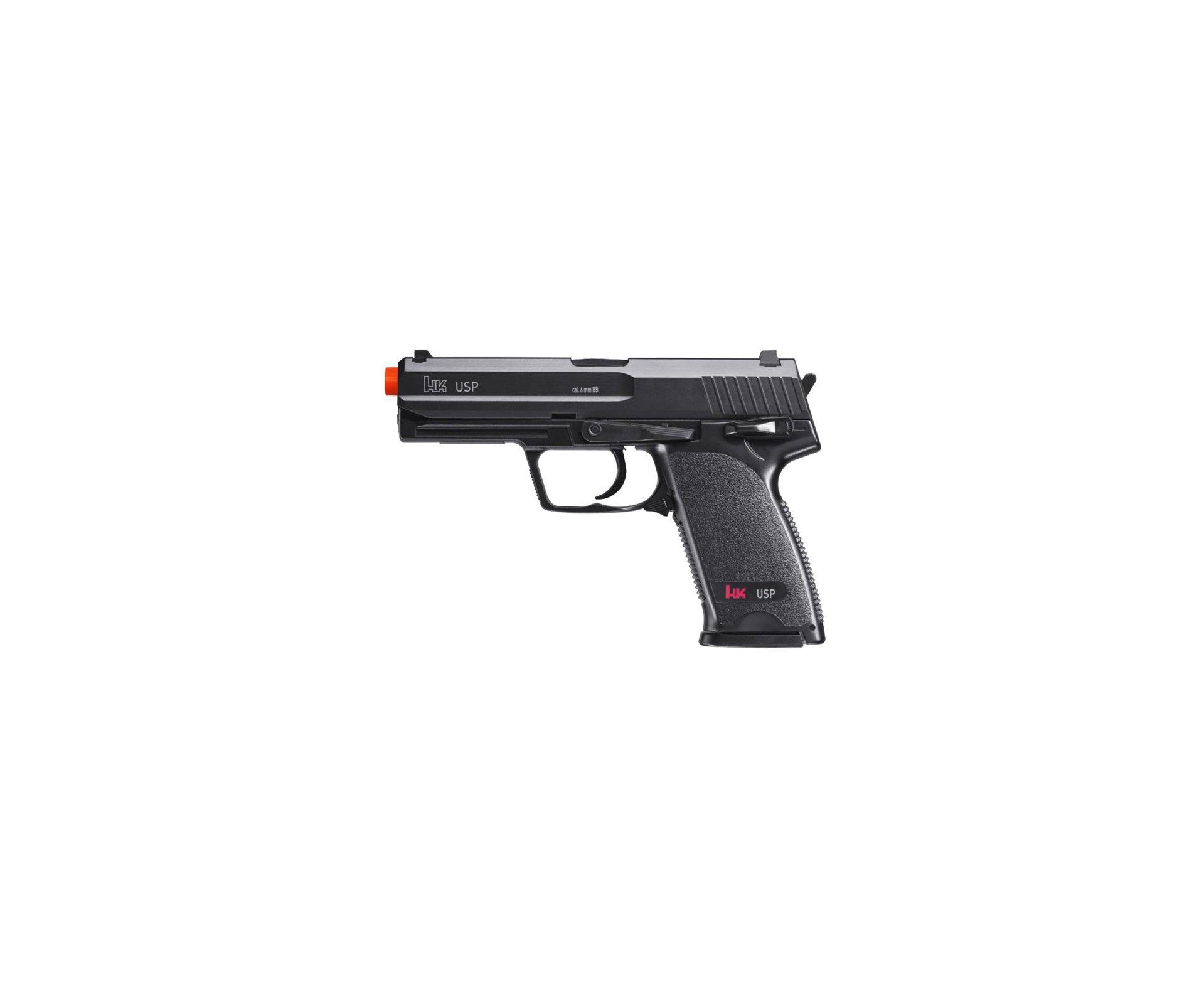 Pistola De Airsoft Hk Usp - Calibre 6,0 Mm - Abs