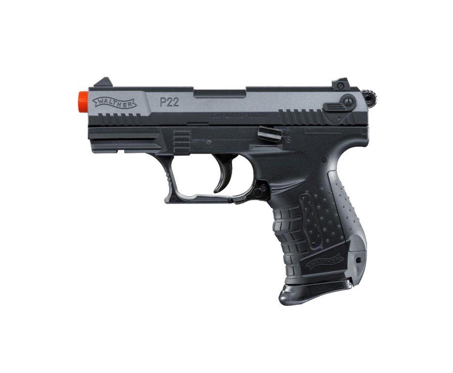 Pistola De Airsoft Walther P22 - Calibre 6,0 Mm - Abs