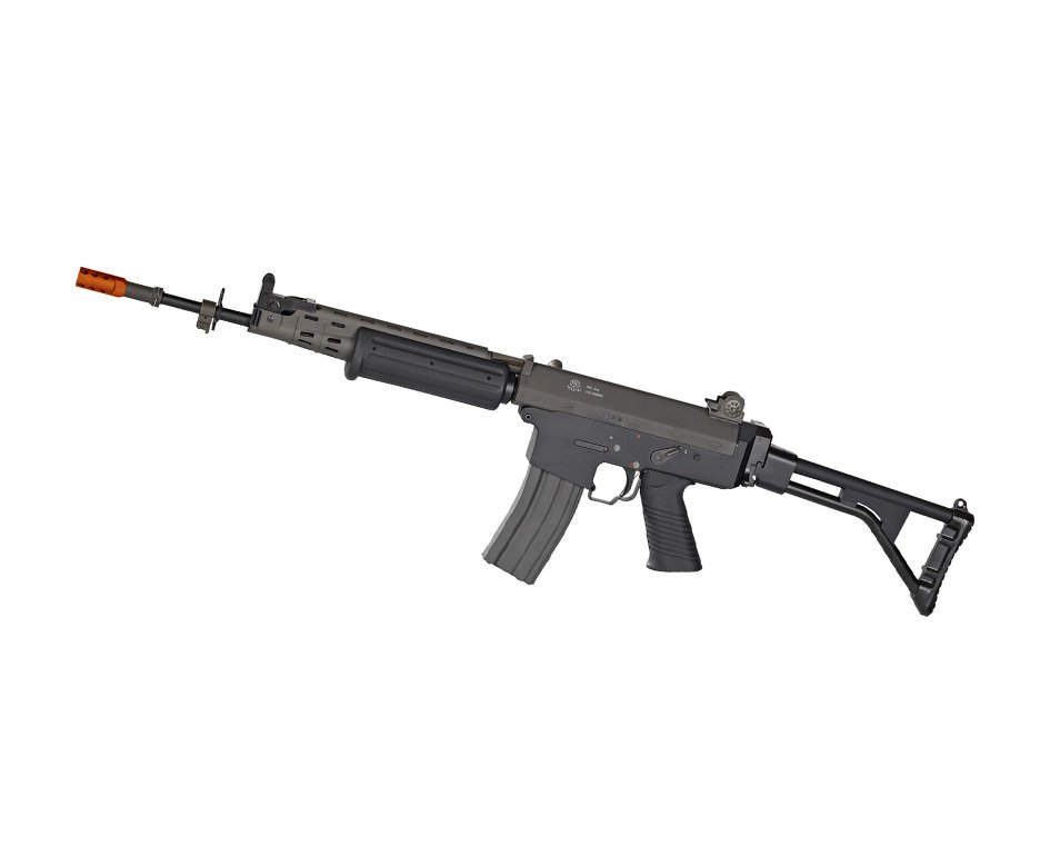 Rifle De Airsoft Fn Herstal Fnc - Full Metal - Calibre 6,0 Mm G&g - 220 V