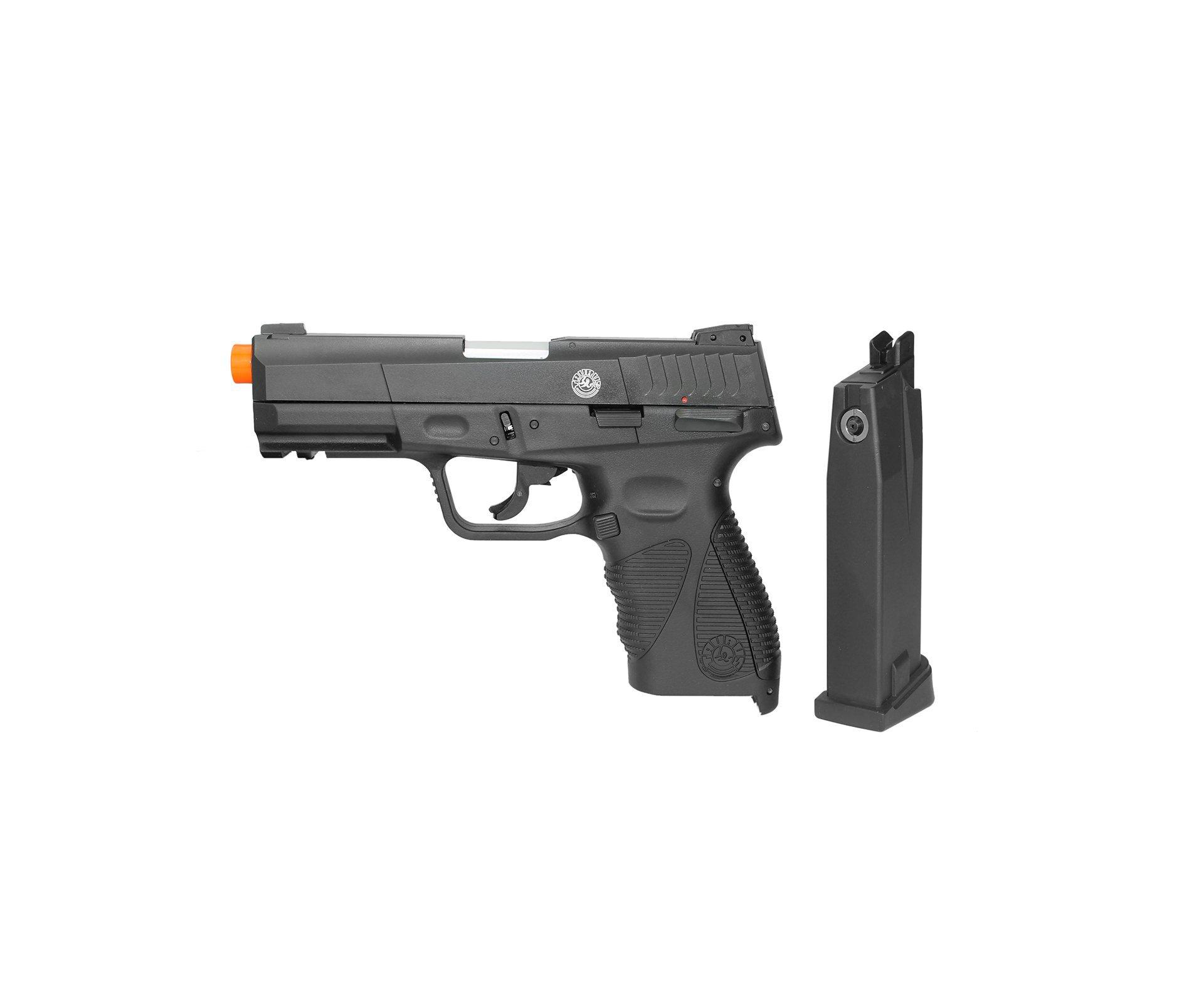 Pistola De Airsoft Gas Co2 Taurus Pt 24/7 G2 Blowback Preta 6mm